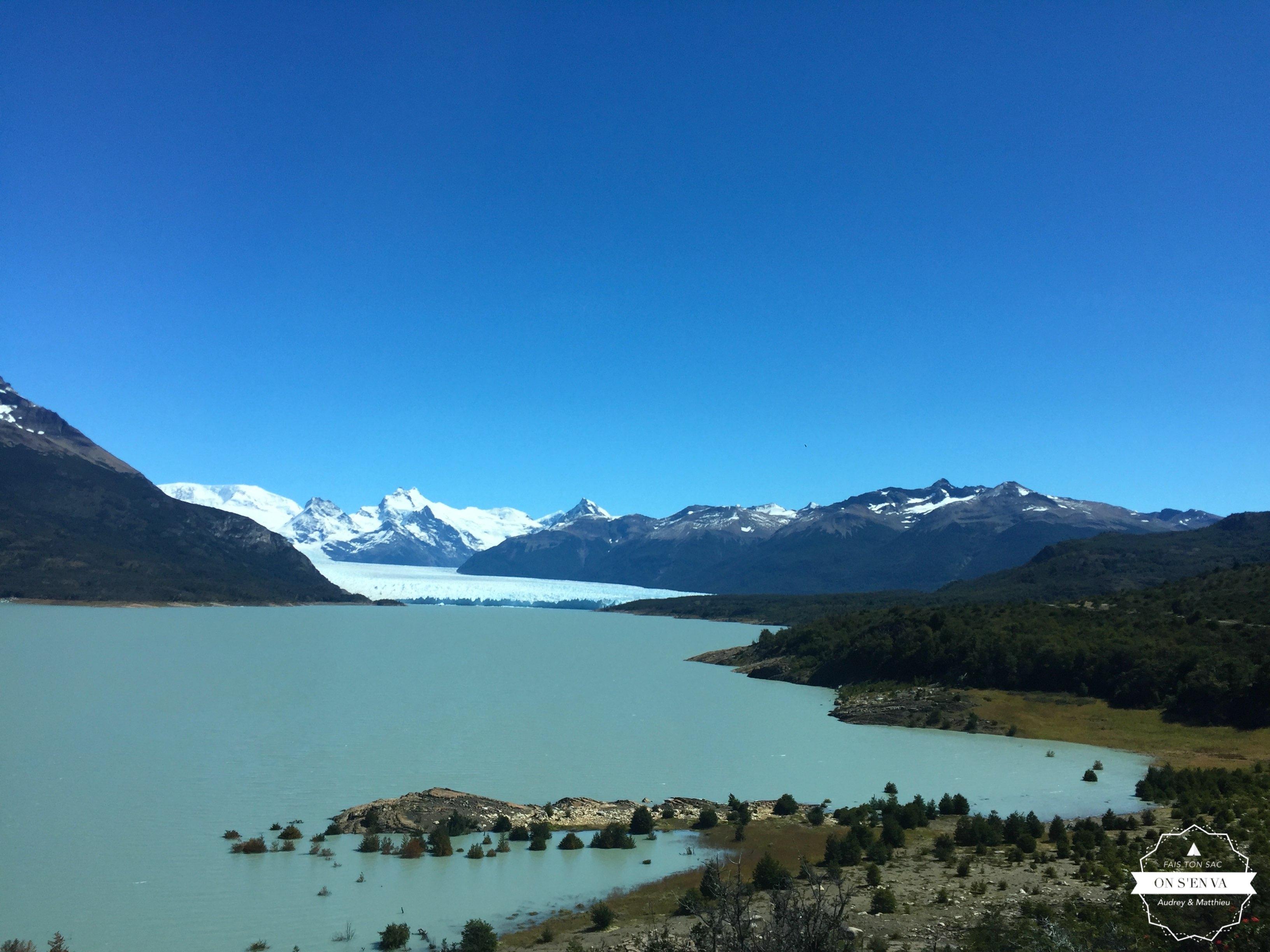 Perito Moreno en vue