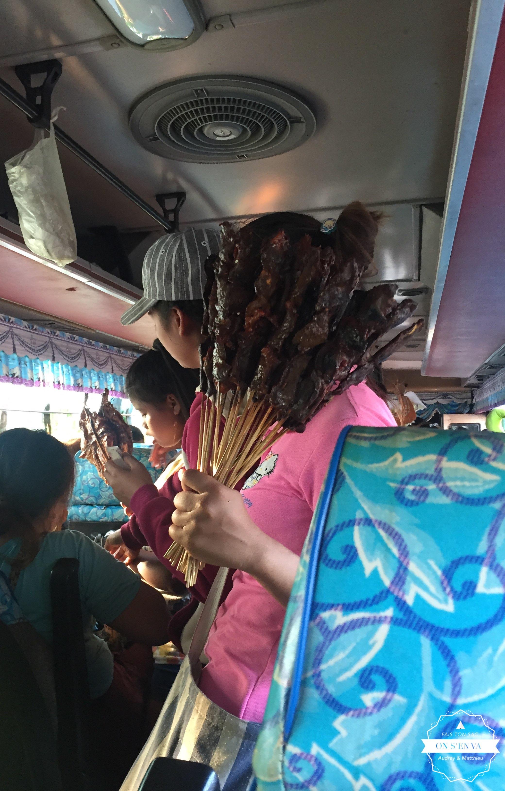 De l'animation dans le bus