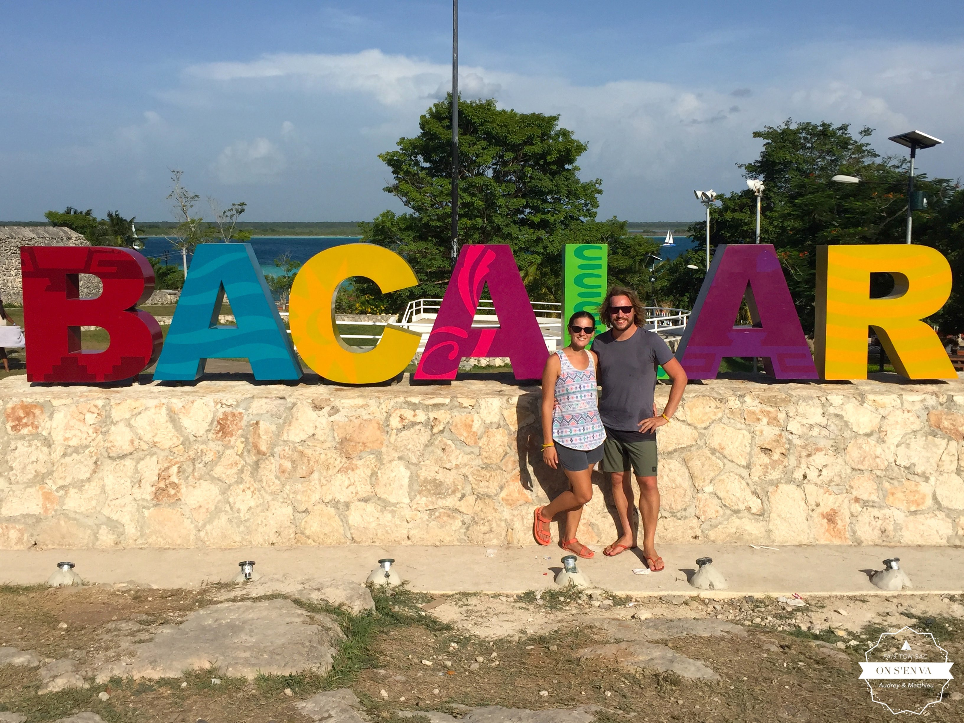 """Photo-touristes"" à Bacalar"