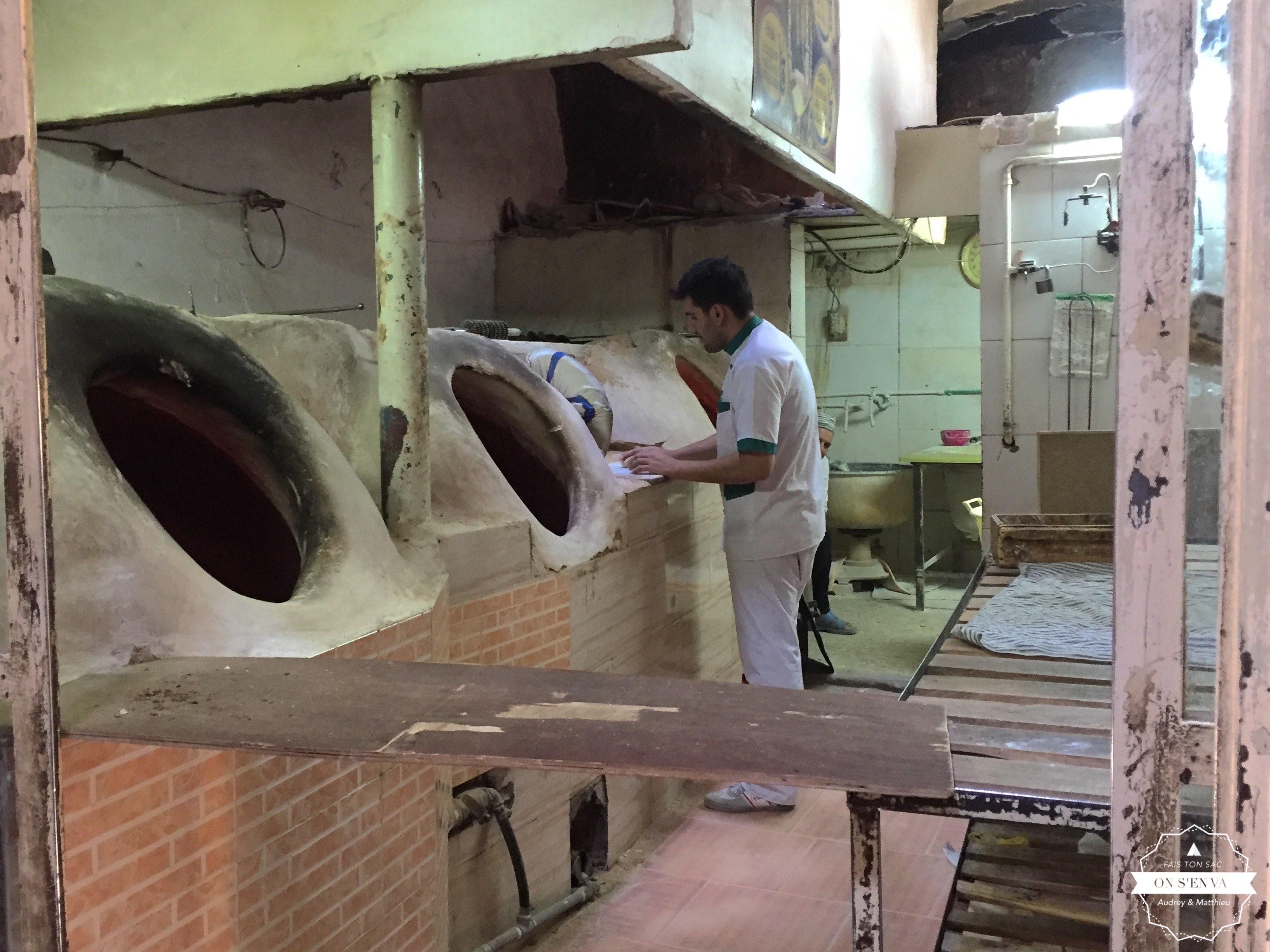 Le boulanger du Bazar