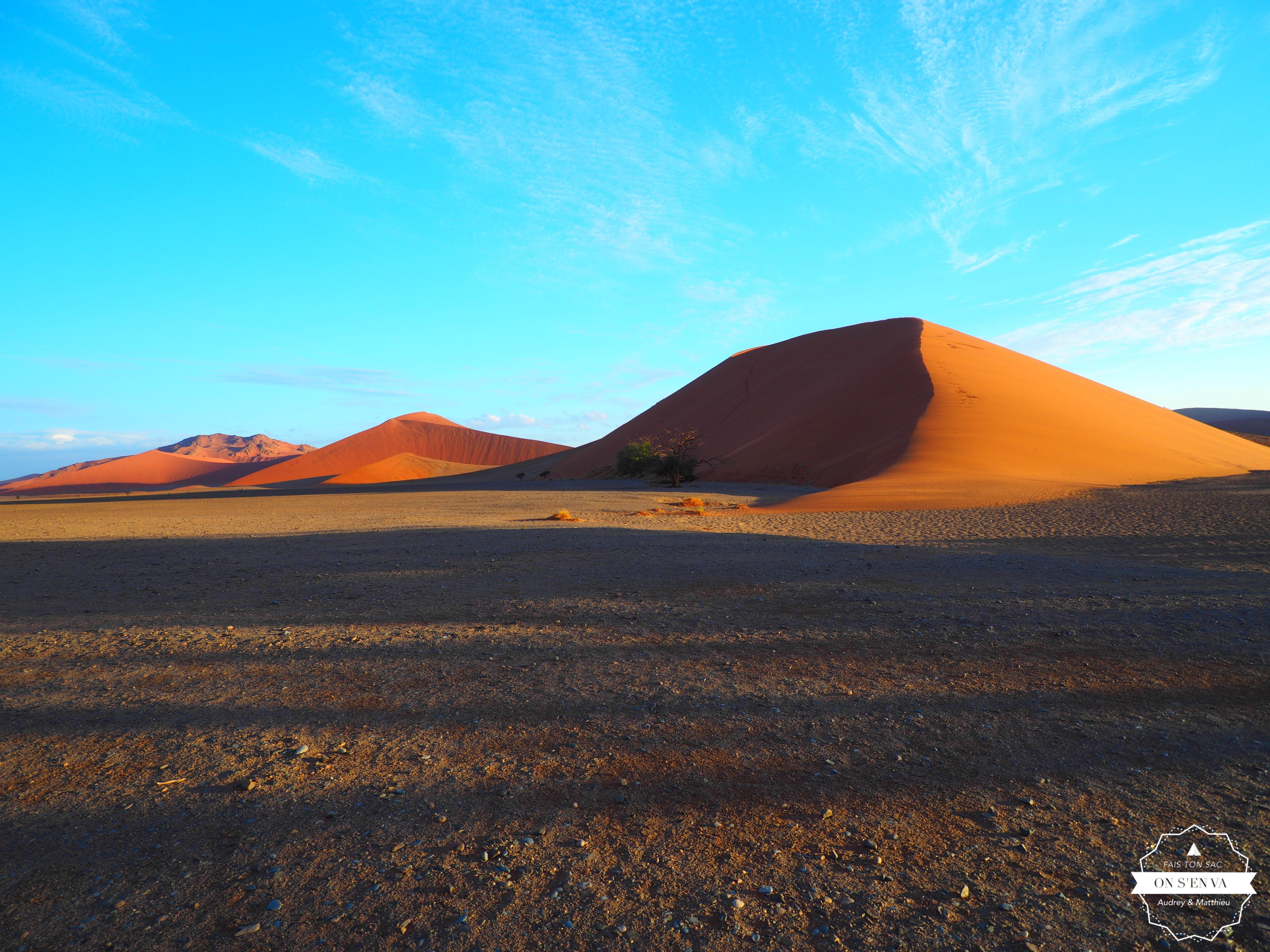 Coucher de soleil sur la Dune 45