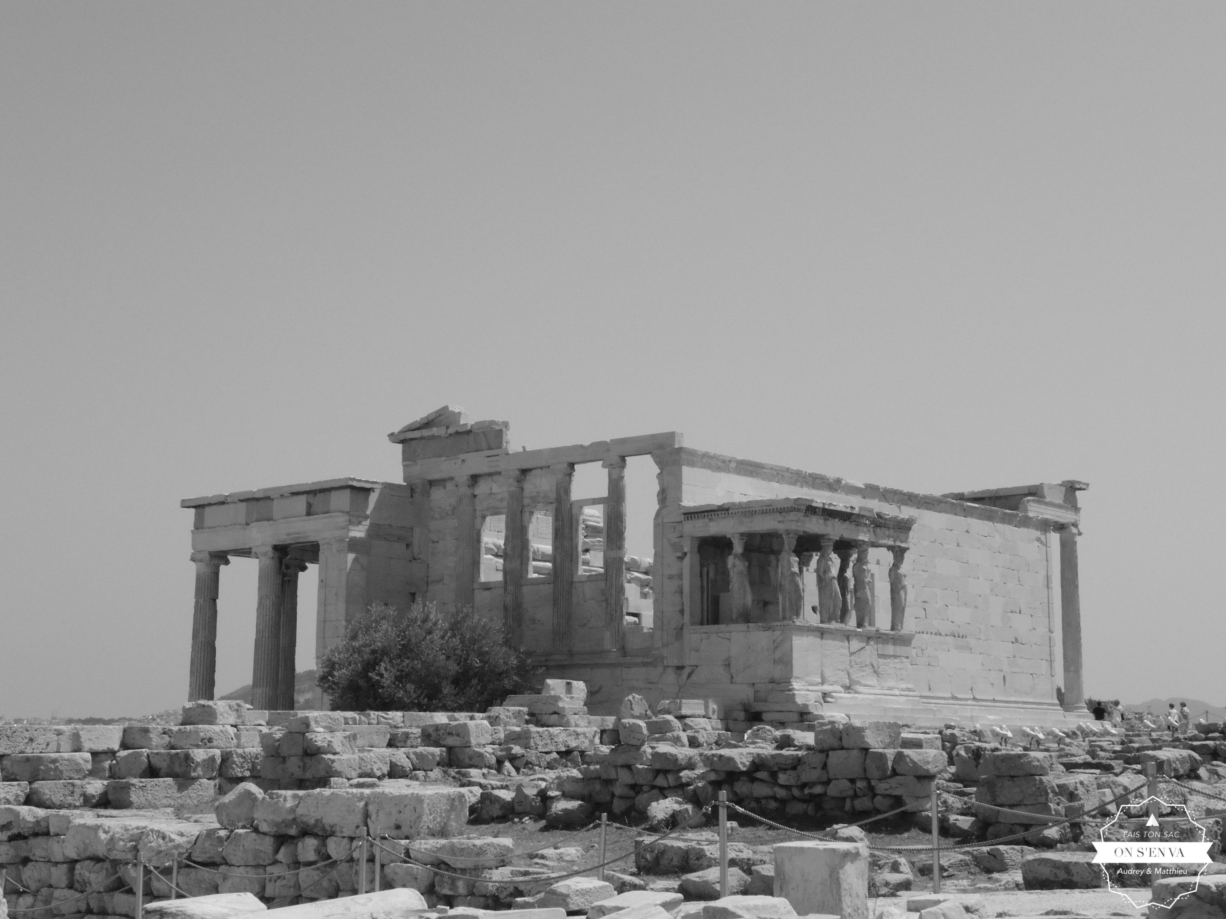 Erechteion, Acropole Athènes