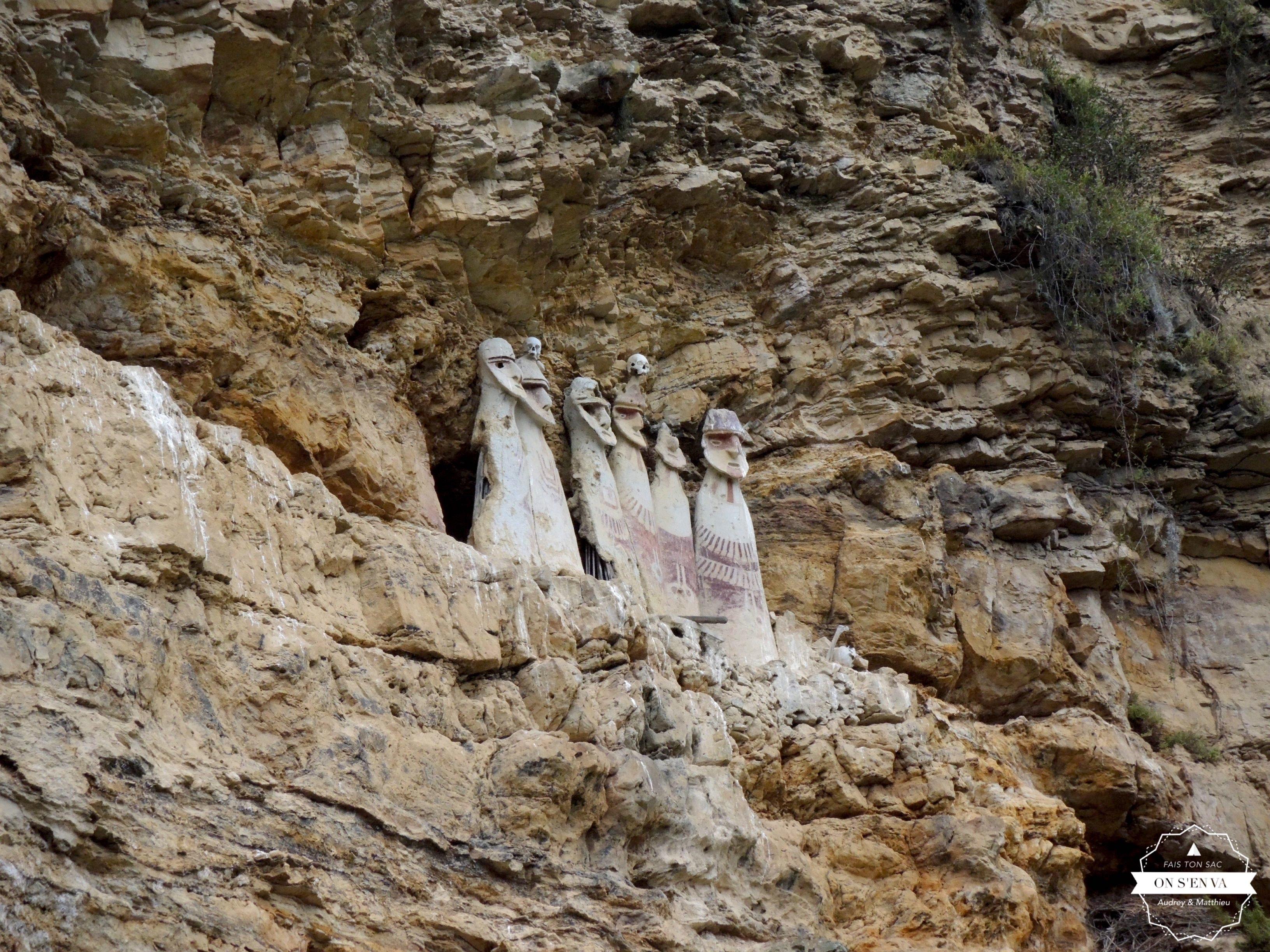 Les tombeaux de Carajía