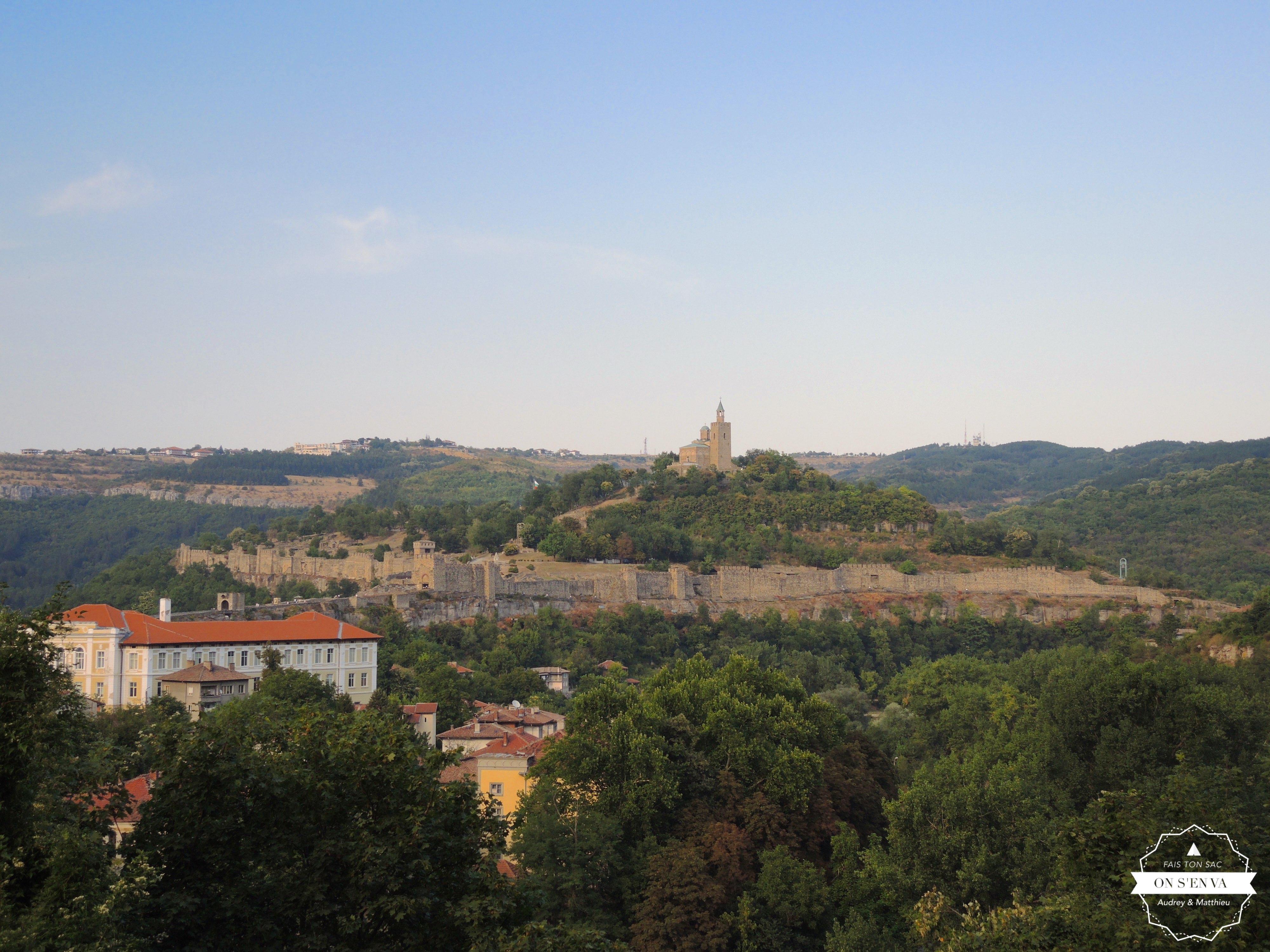 Veliko Tarnovo et le Mont Tsarevets