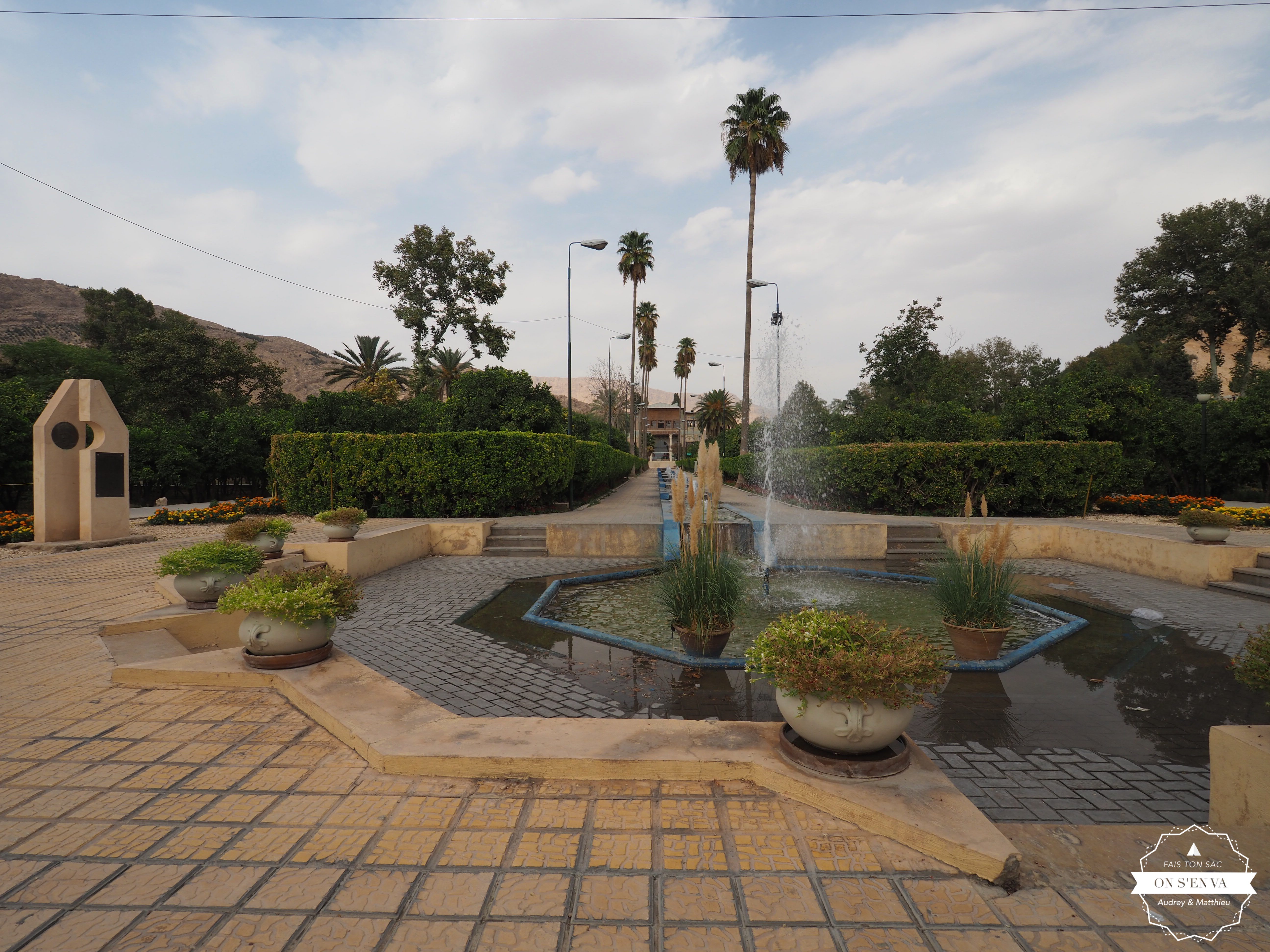 Un jardin de Chiraz