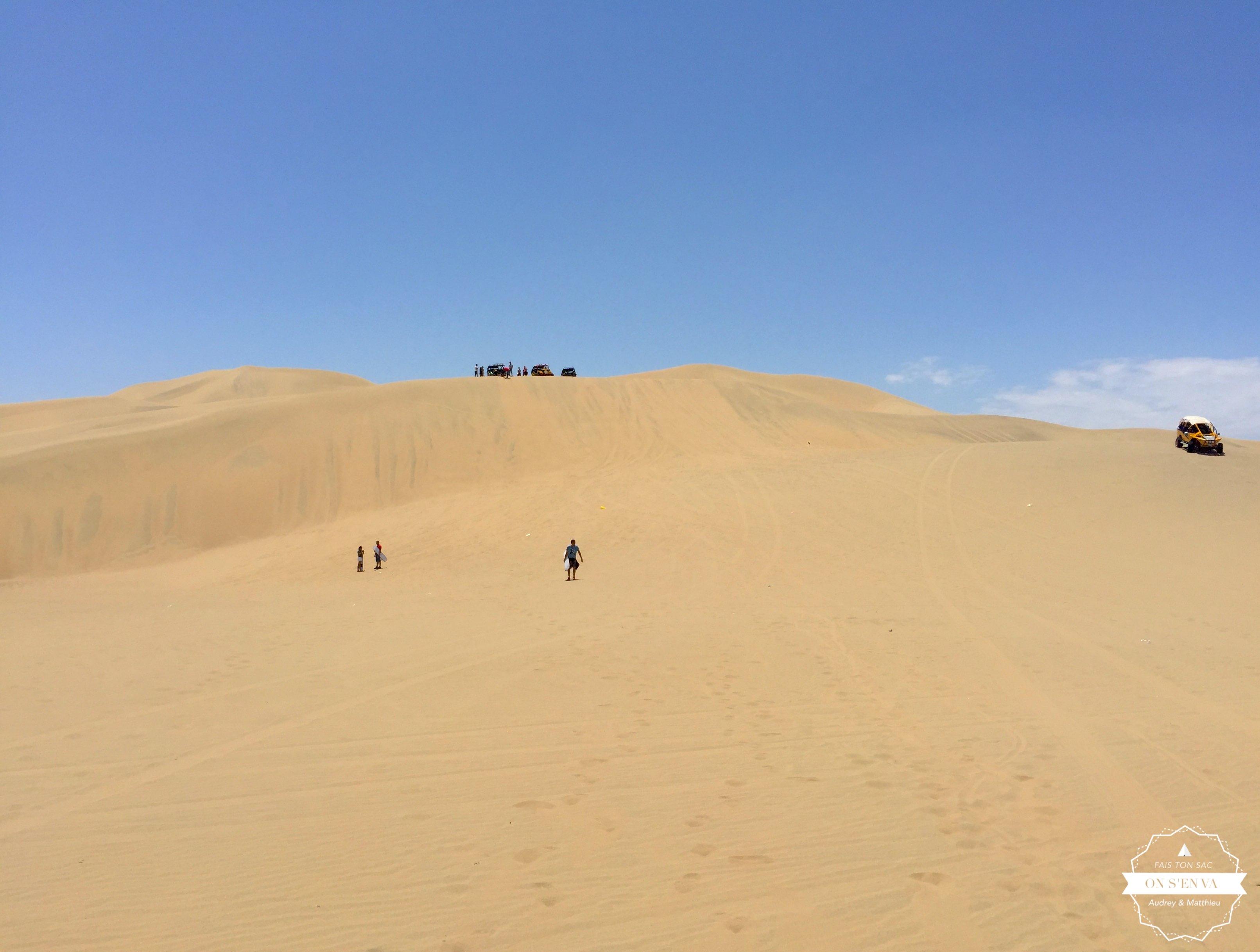 Du désert à perte de vue