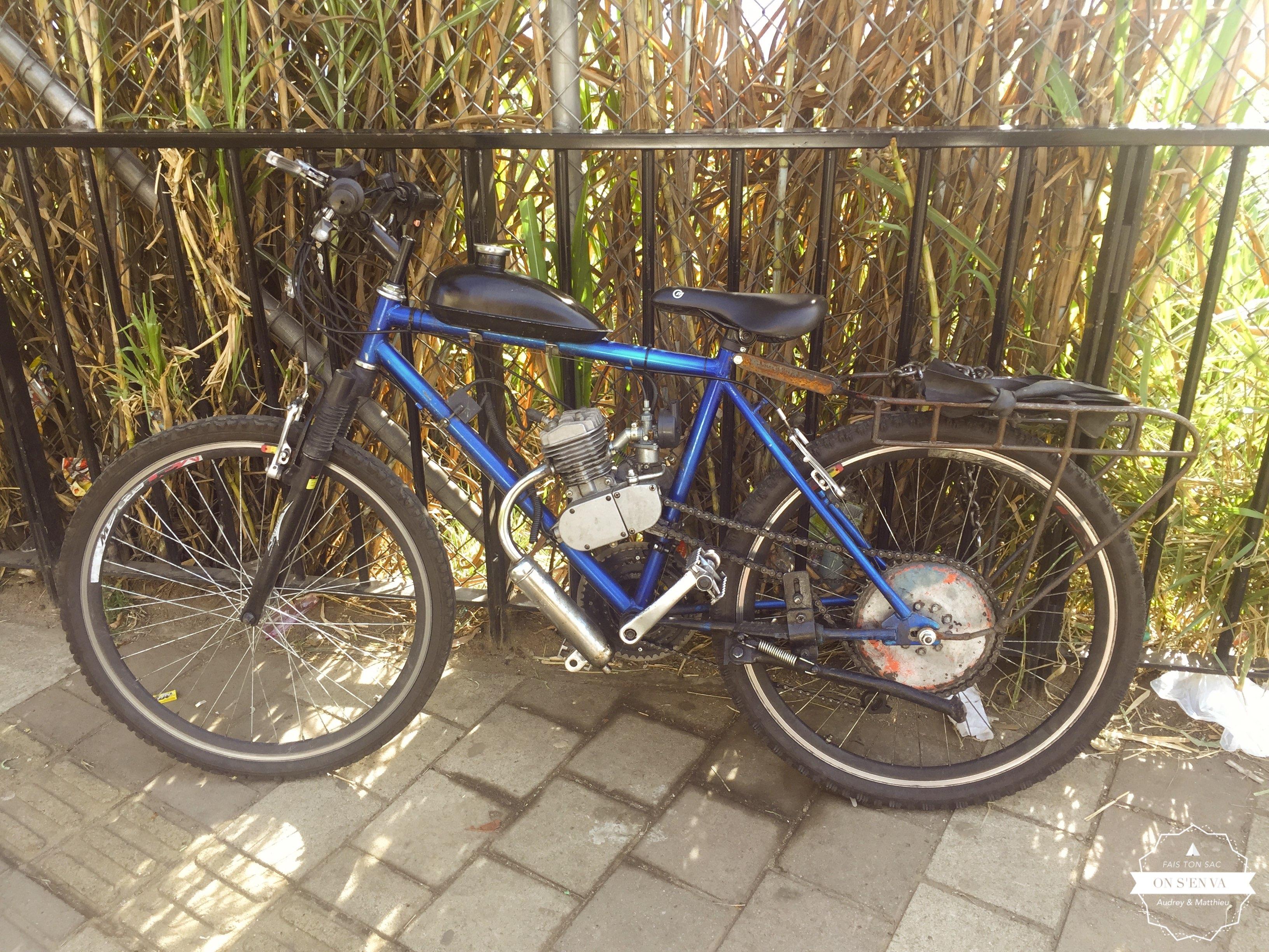 Un vélo à moteur!