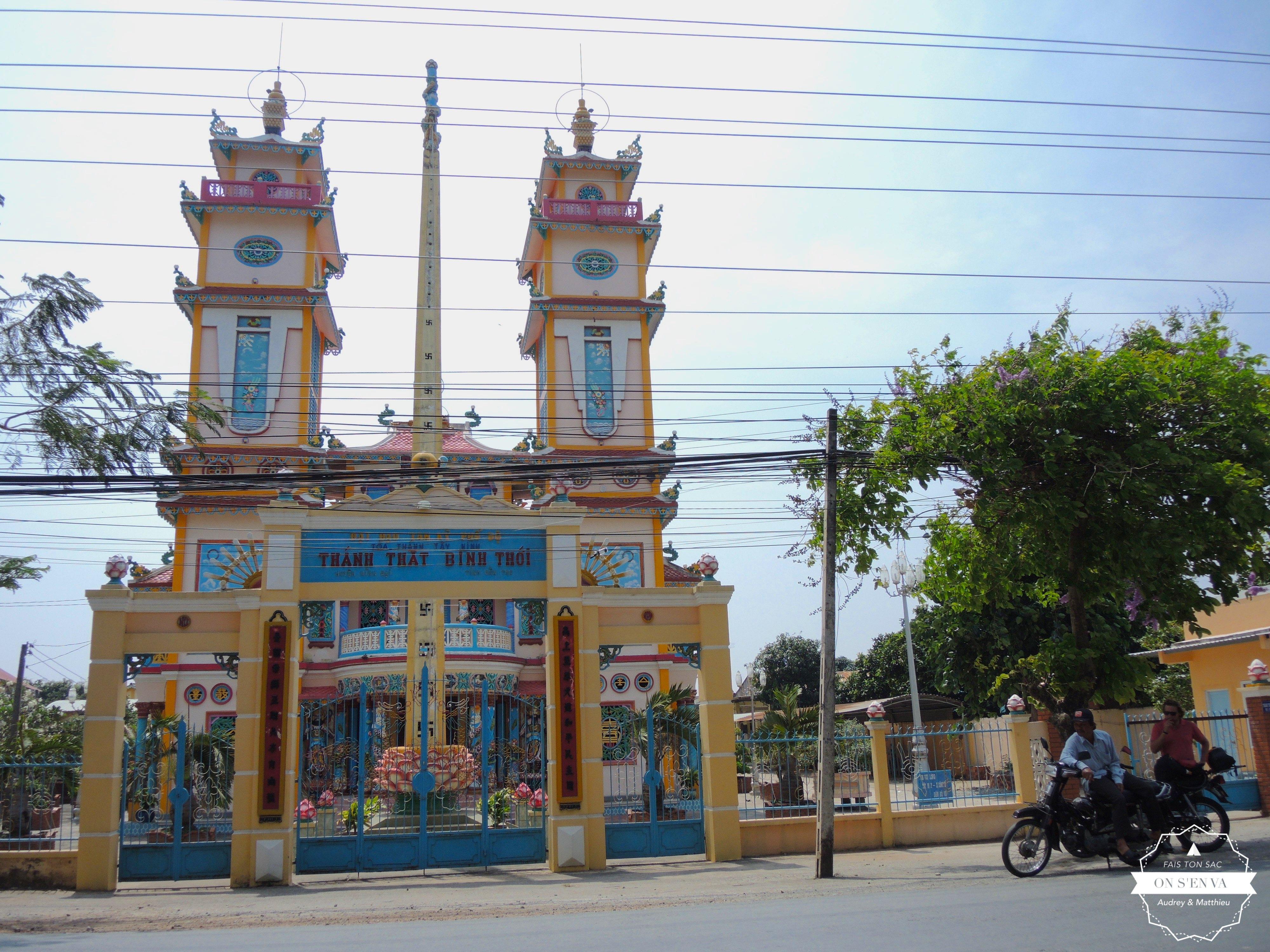 Un des nombreux temples croisés
