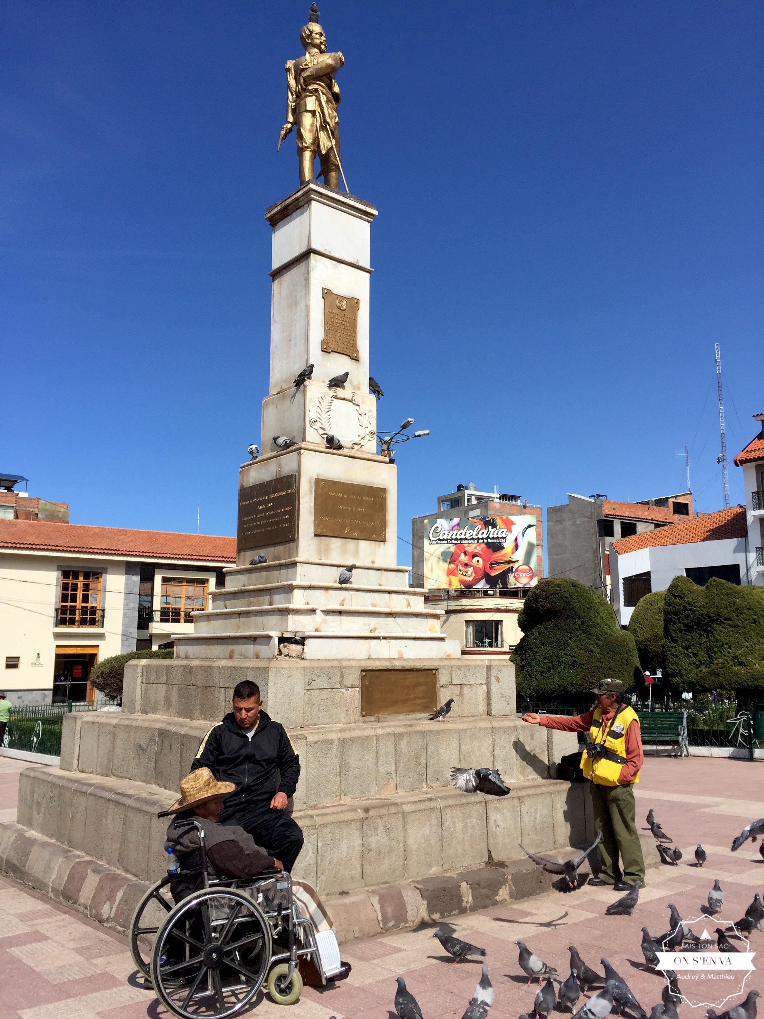 Puno, Plaza de Armas