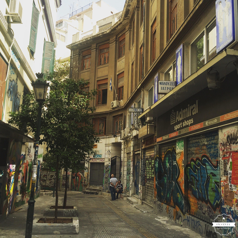 Quartier Exarchia, Athènes