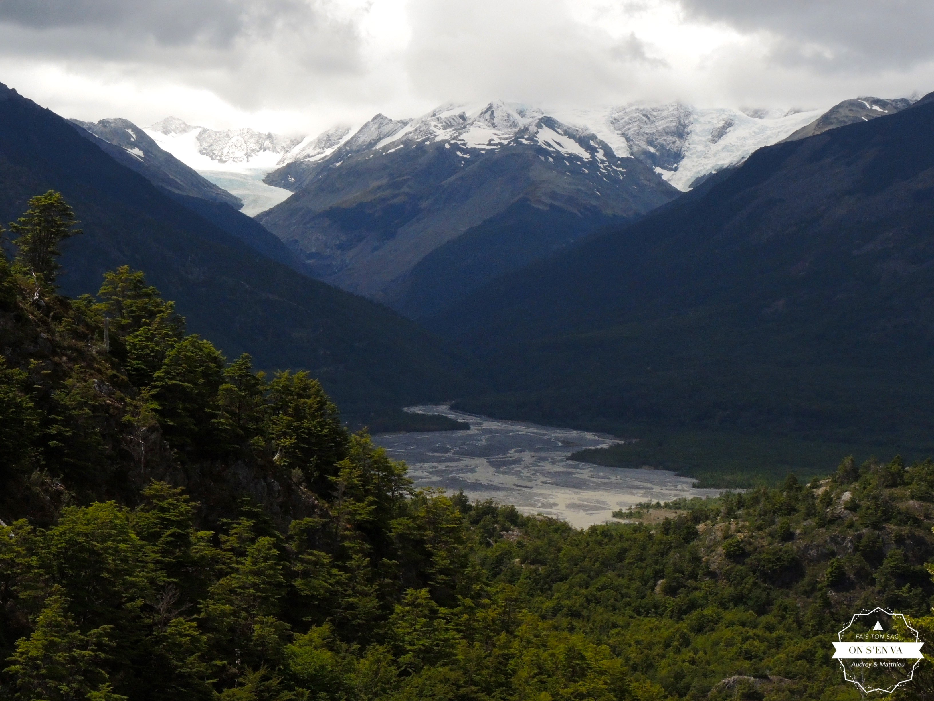 Les Glaciers Mosco et Huemul