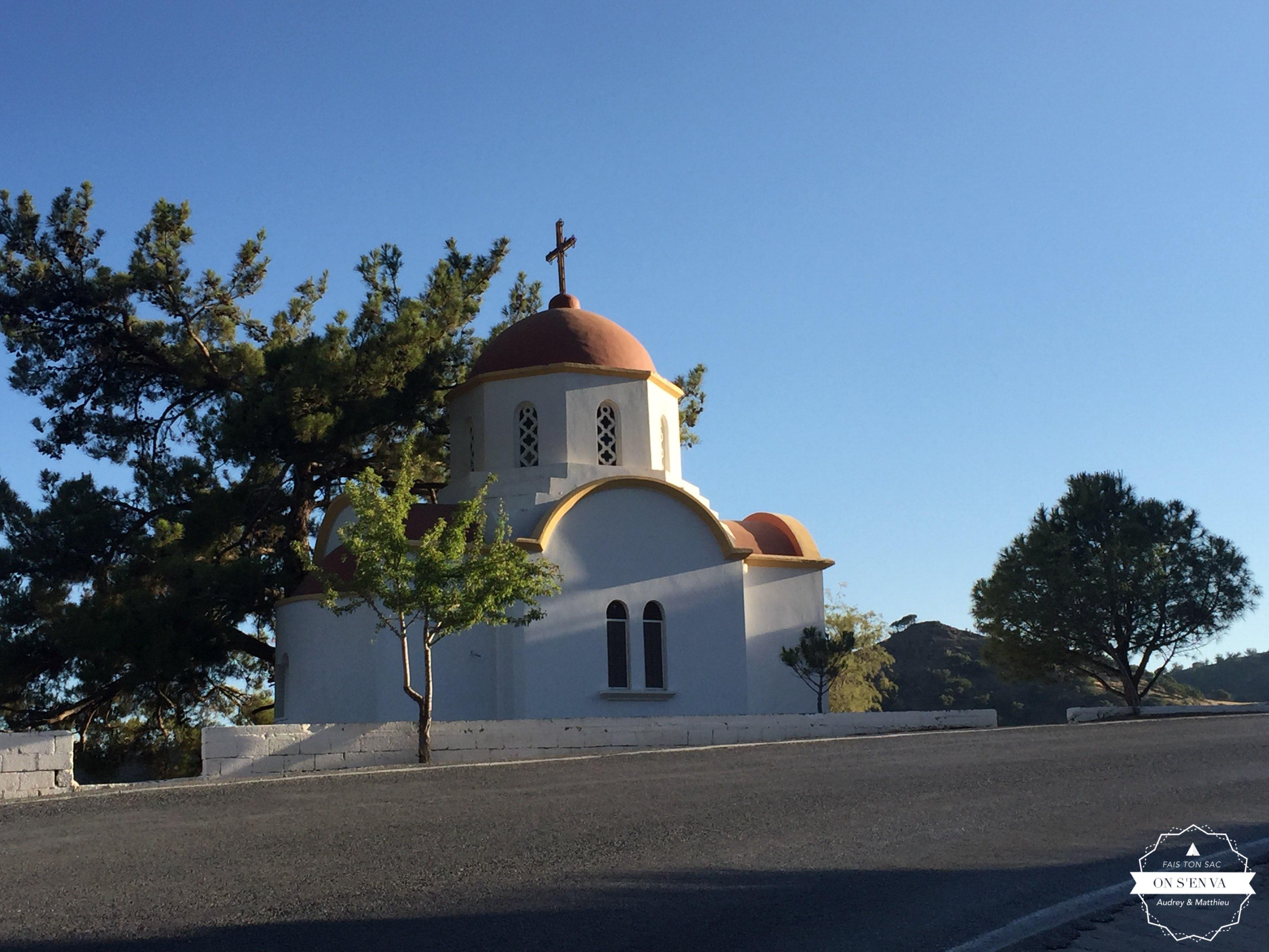 Une des nombreuses églises de Crète