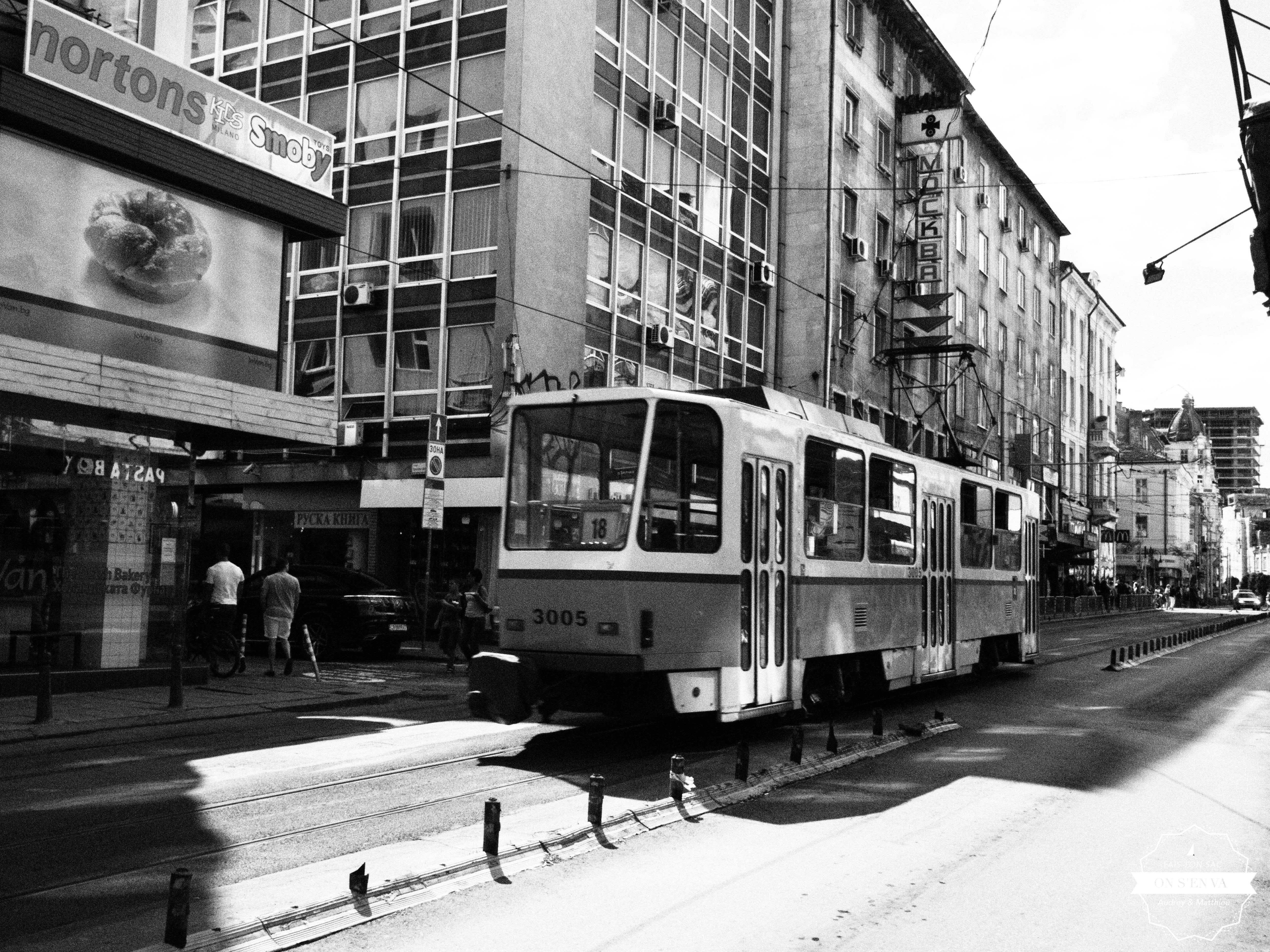 Le tramway de Sofia