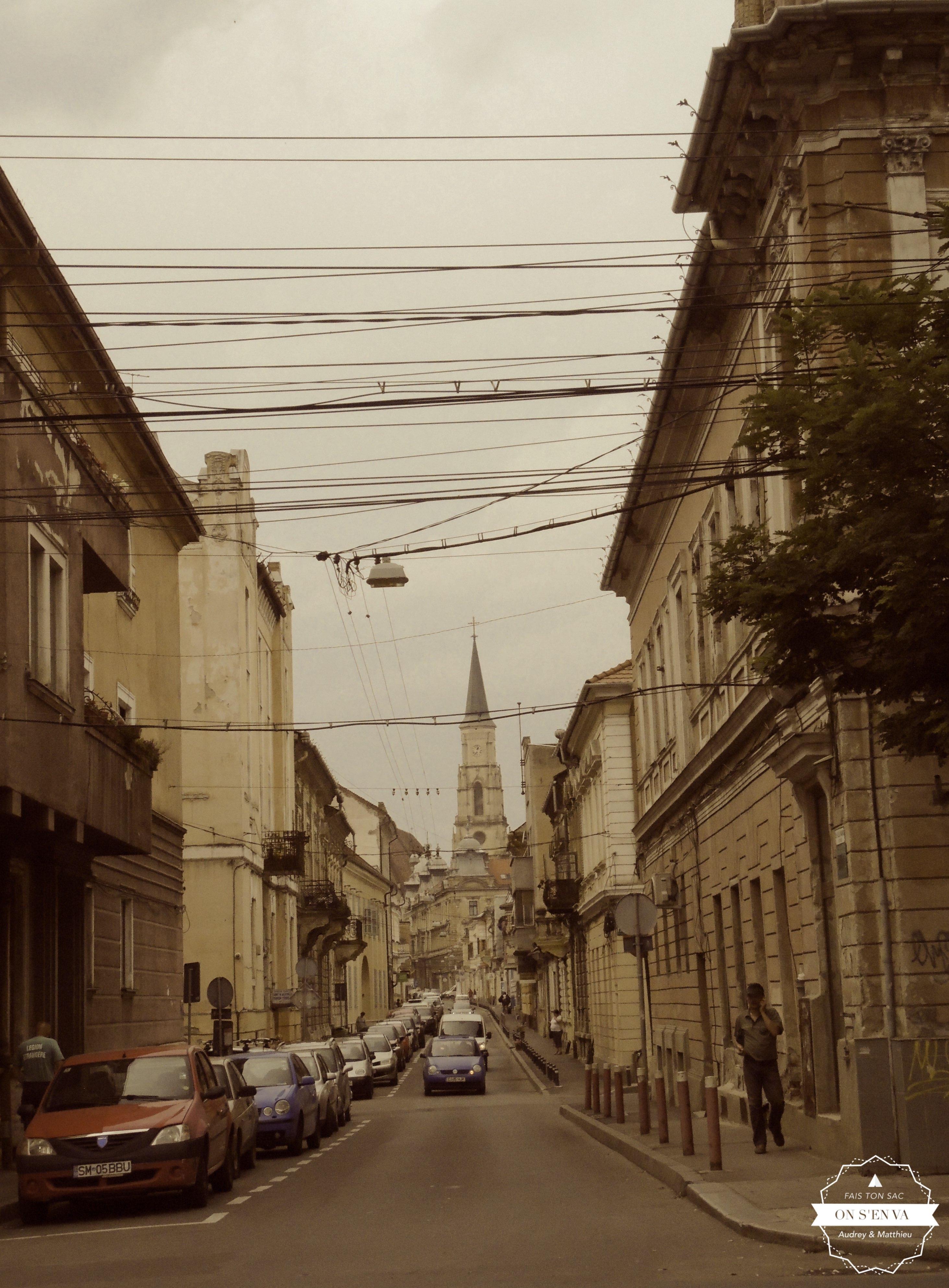 Dans les rues de Cluj
