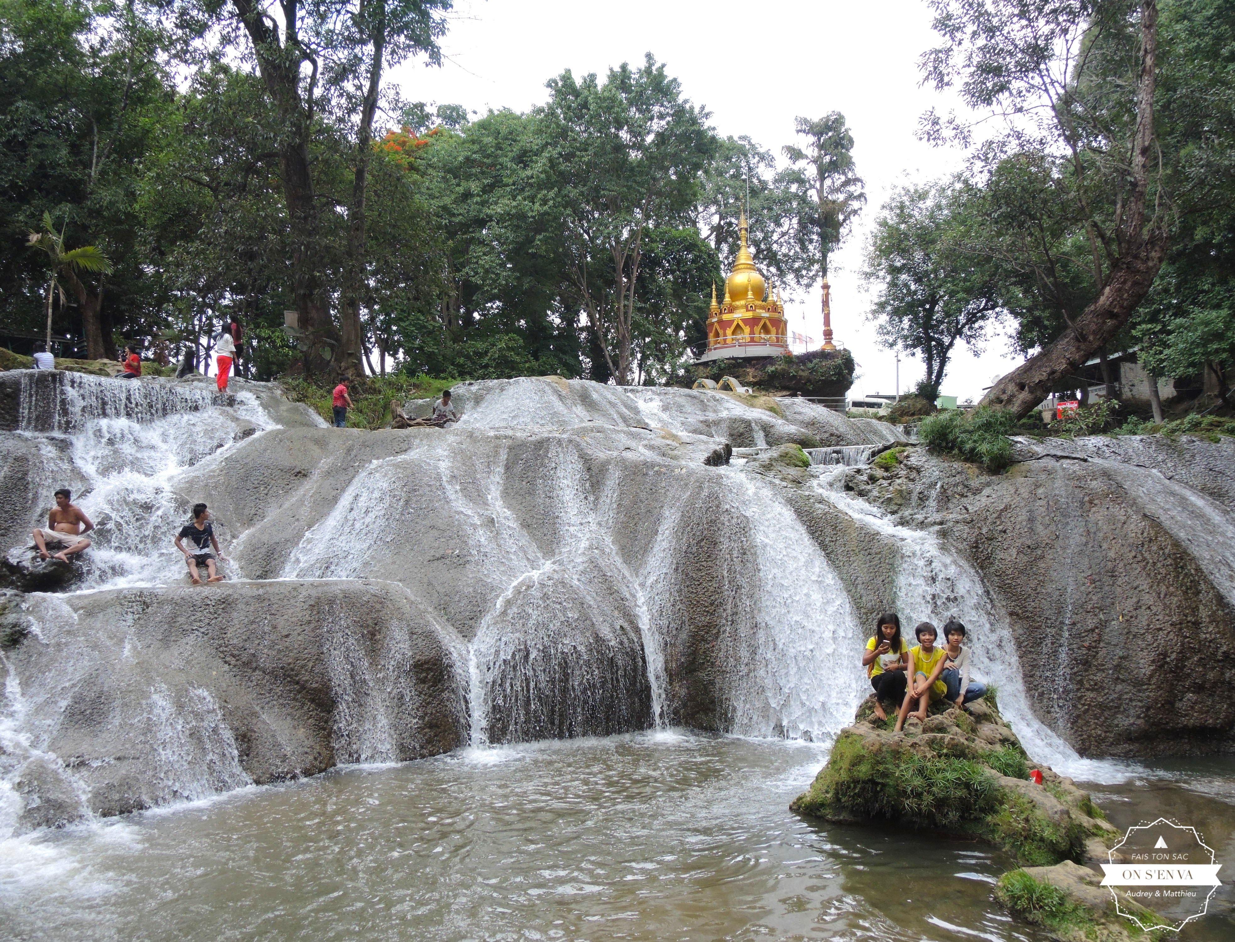 Les chutes Pwe Kauk