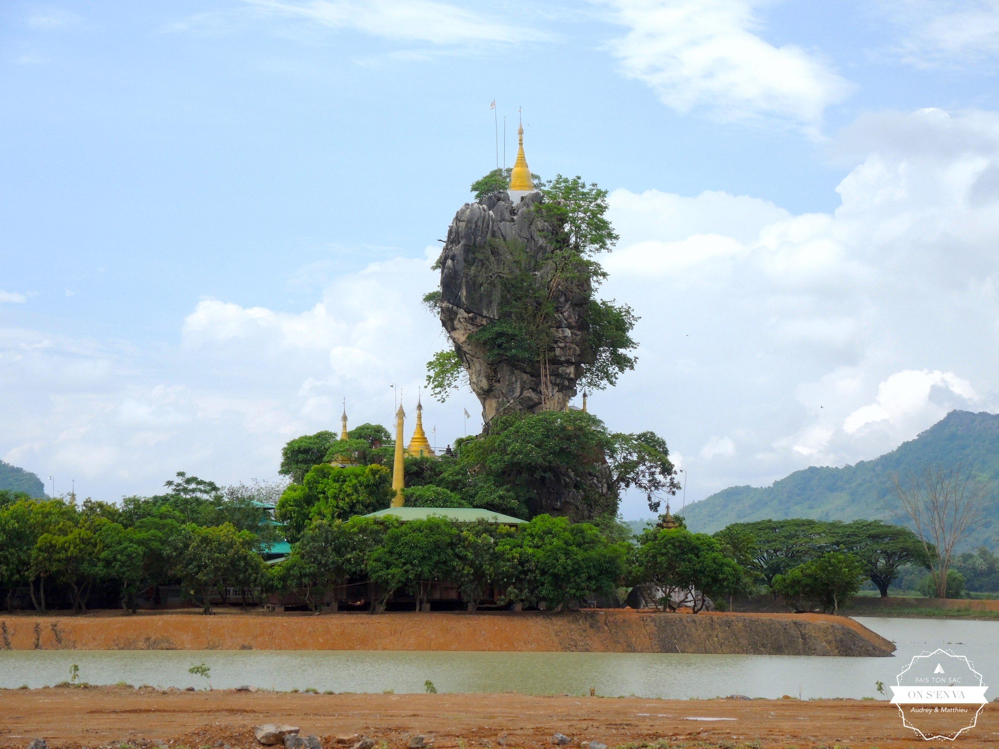 Monastère Kyauk Kalap