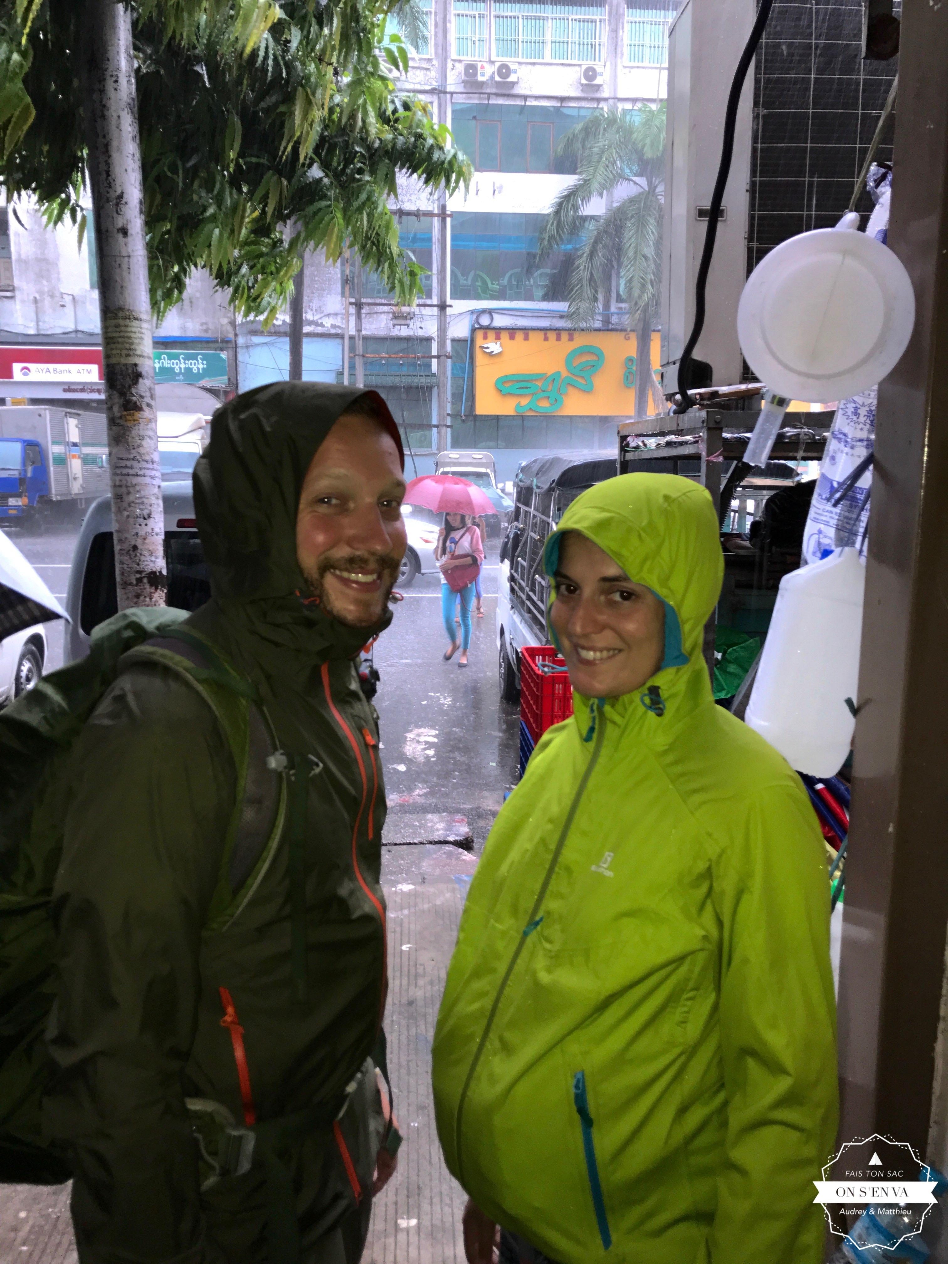 Il pleut en ce 3e jour!