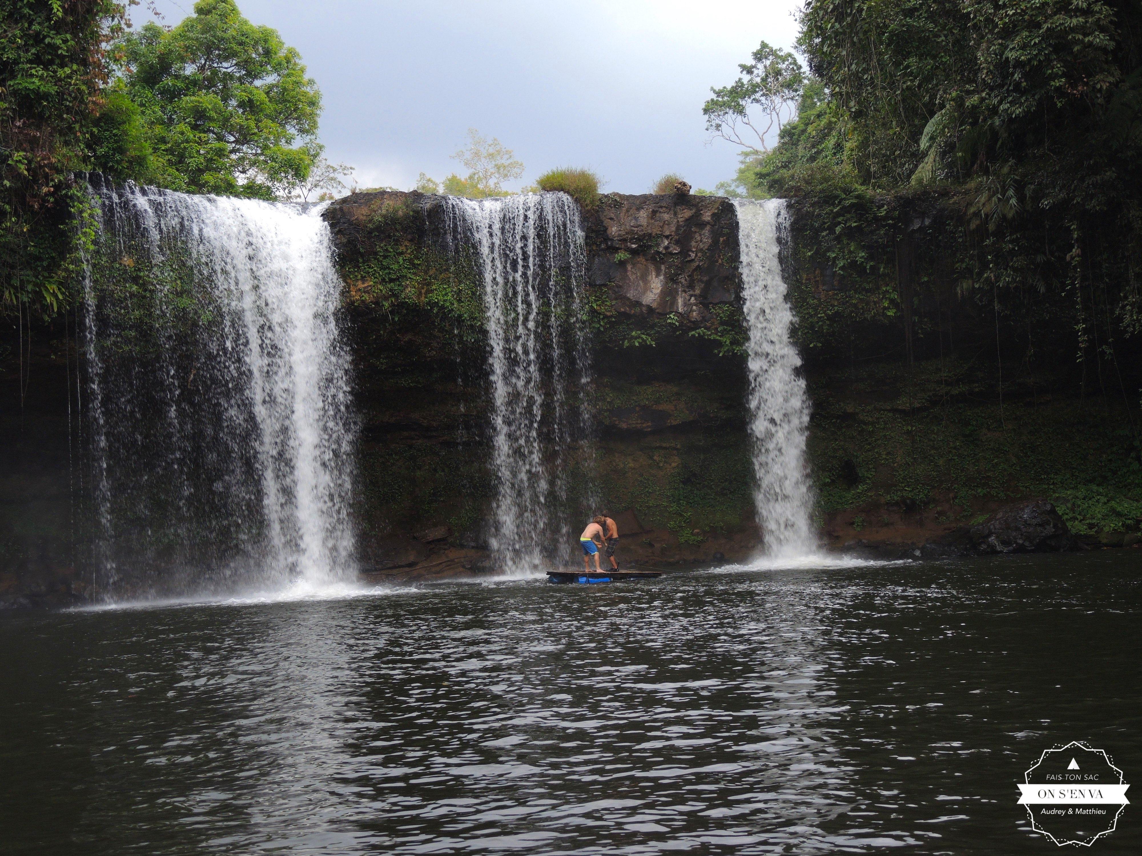 L'heure de la baignade à Tad Champee
