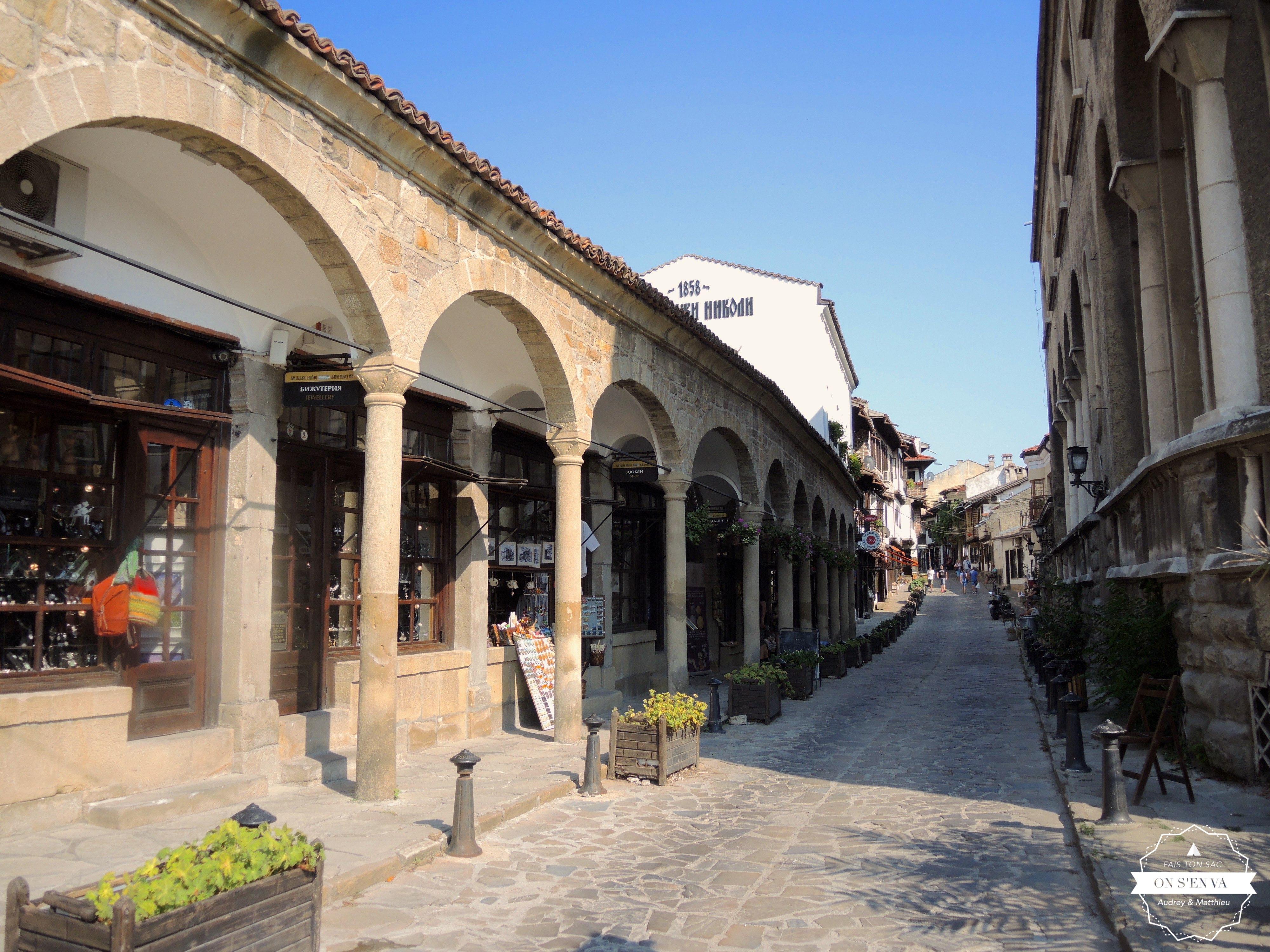 La vieille rue Rakovski
