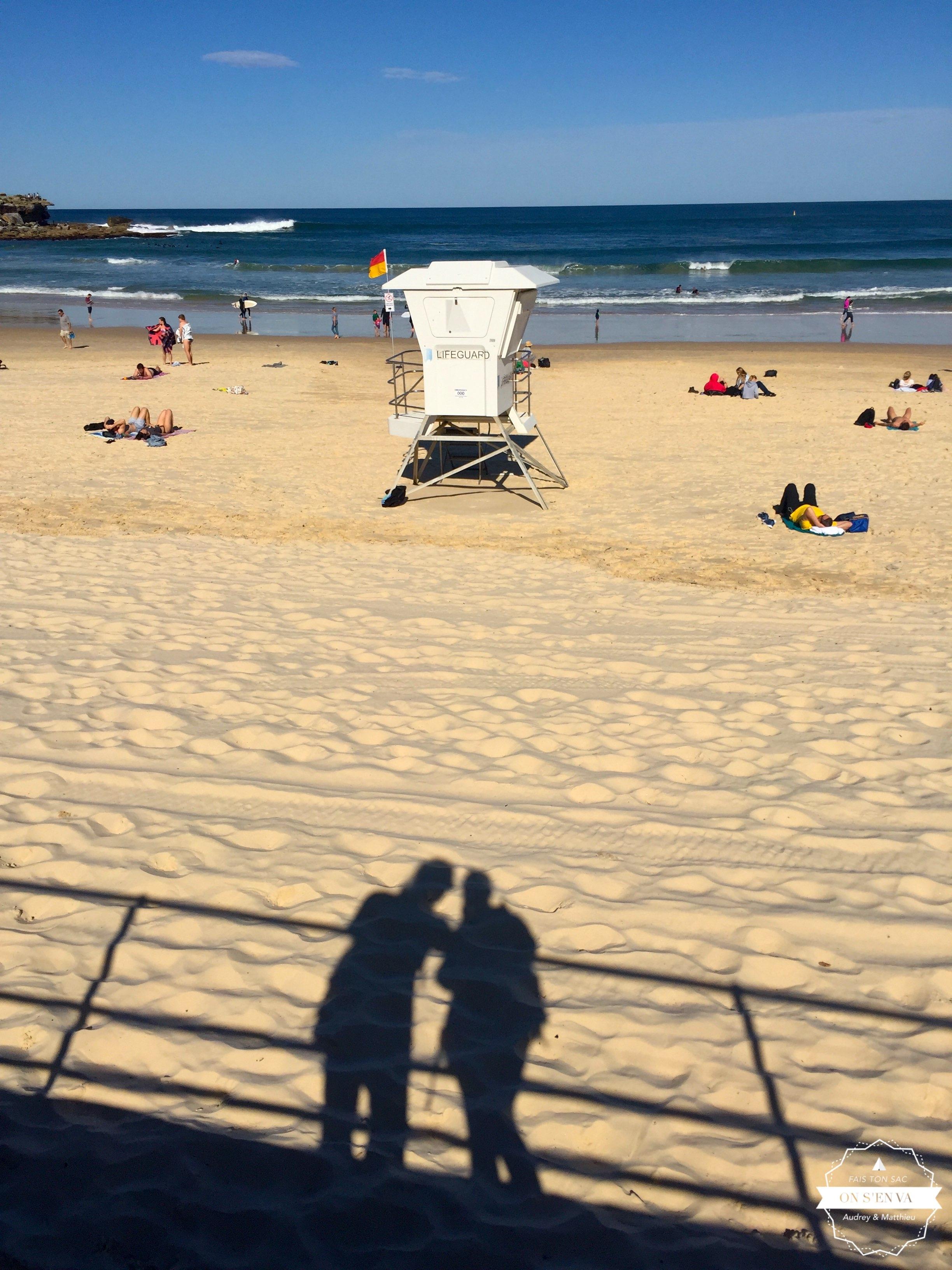 On passe le dimanche à Bondi Beach