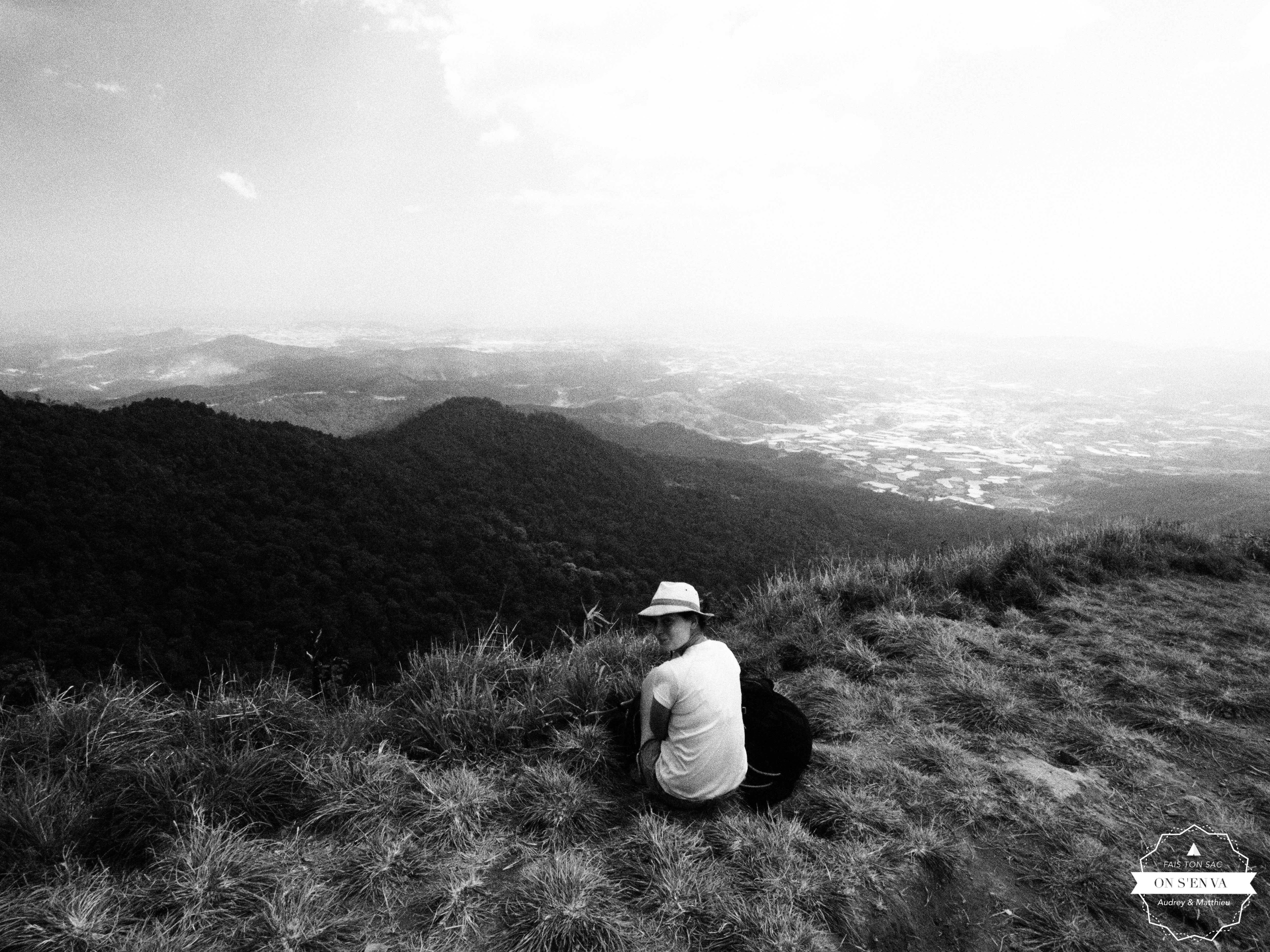 En haut de Lang Bian