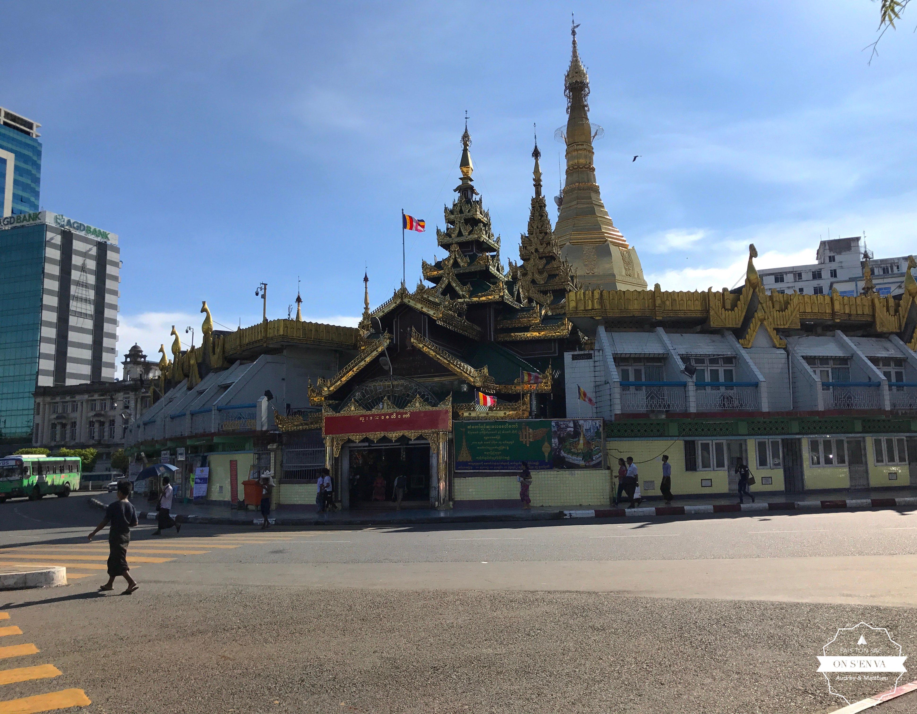 La plus vieille pagode de la ville