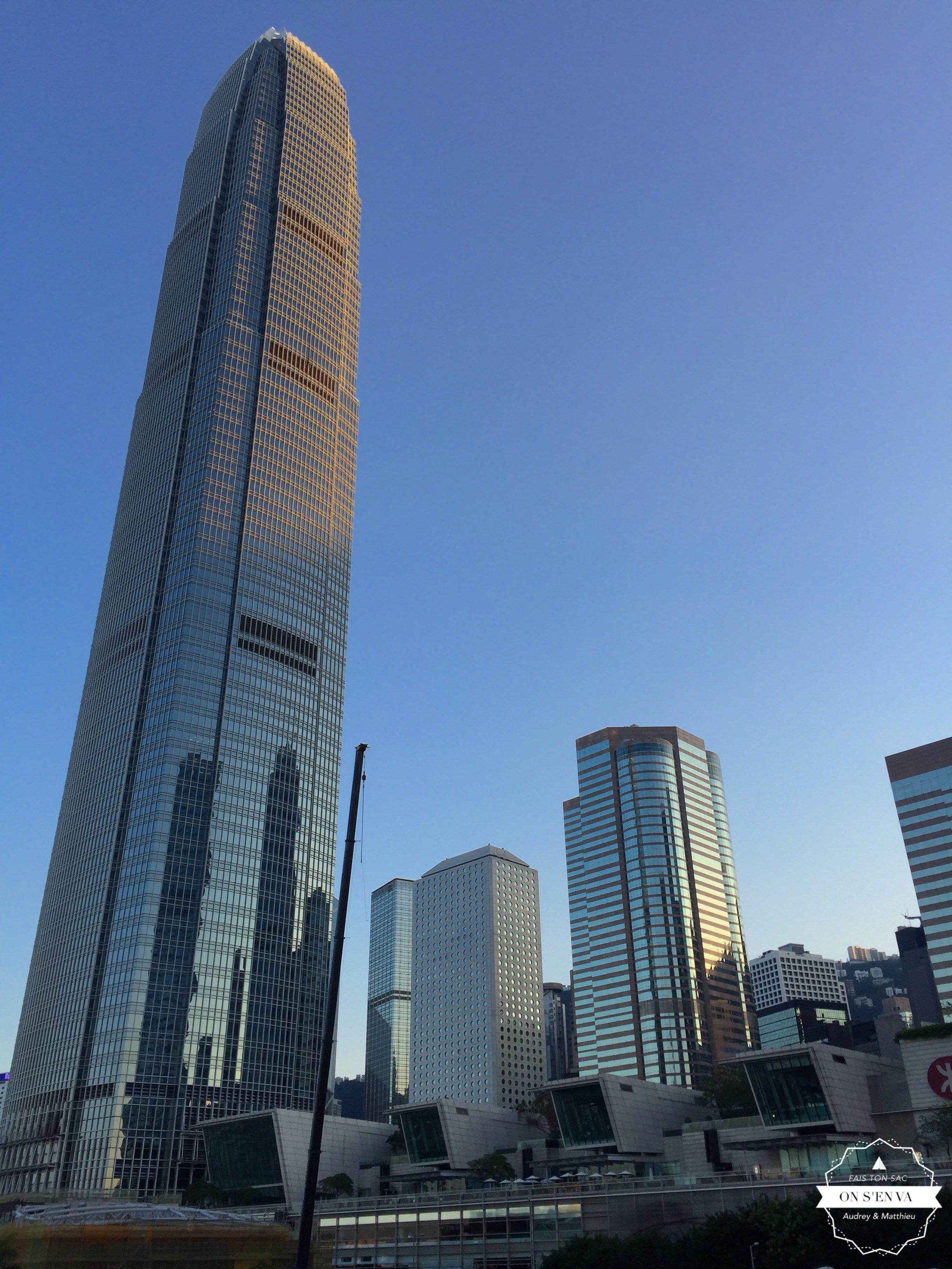 Première vision de Hong Kong