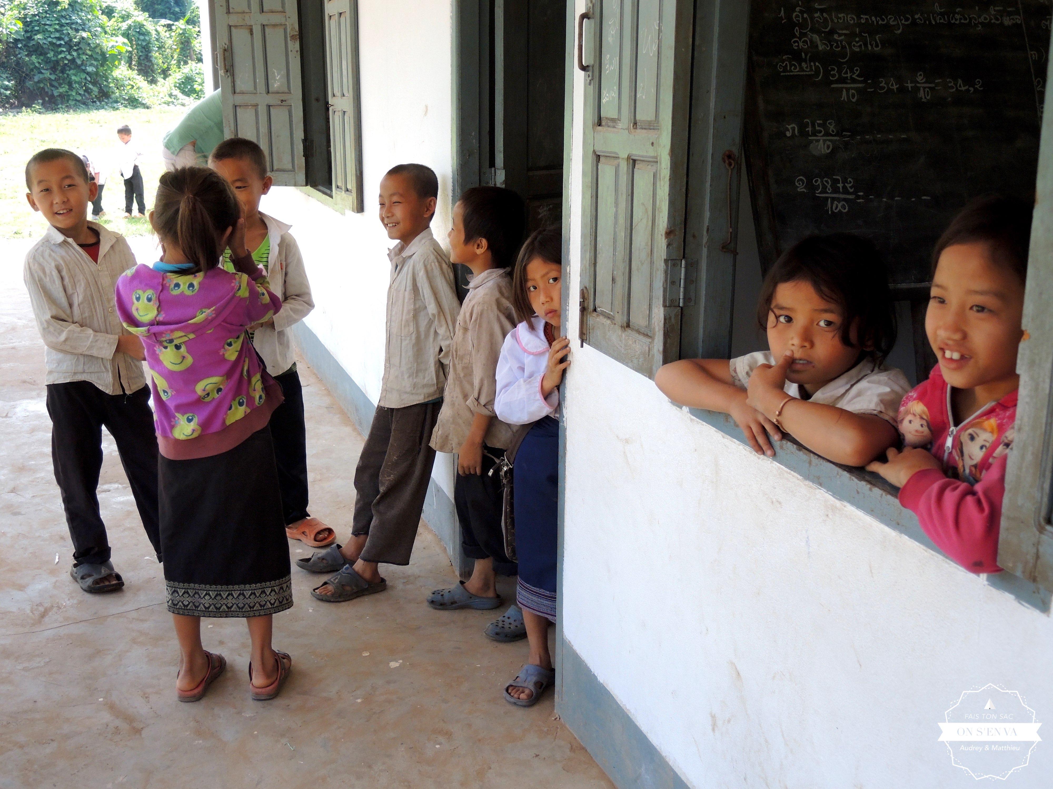 Ecole de Ban Nonkew, chez les Kamous