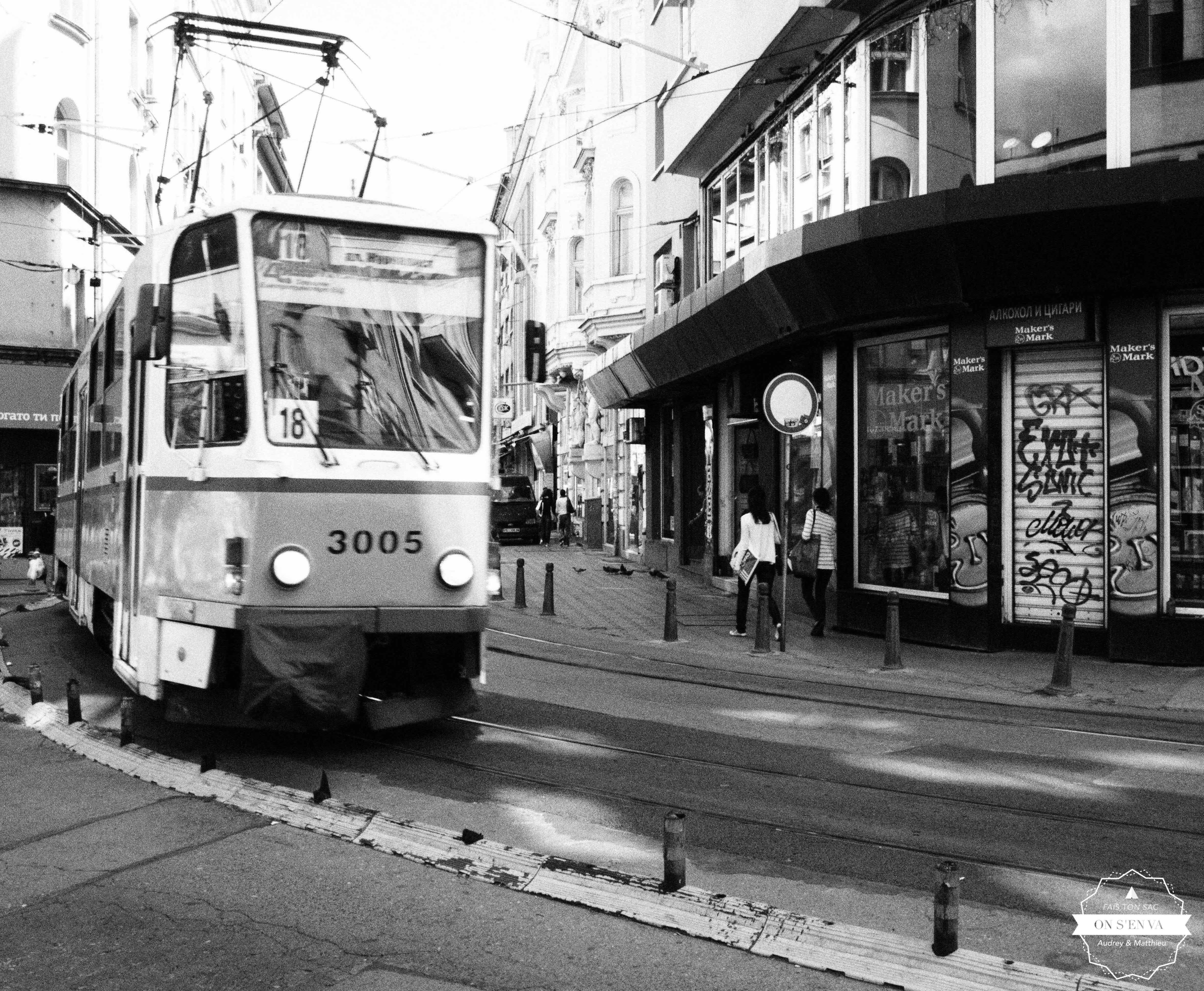 Tramway de Sofia