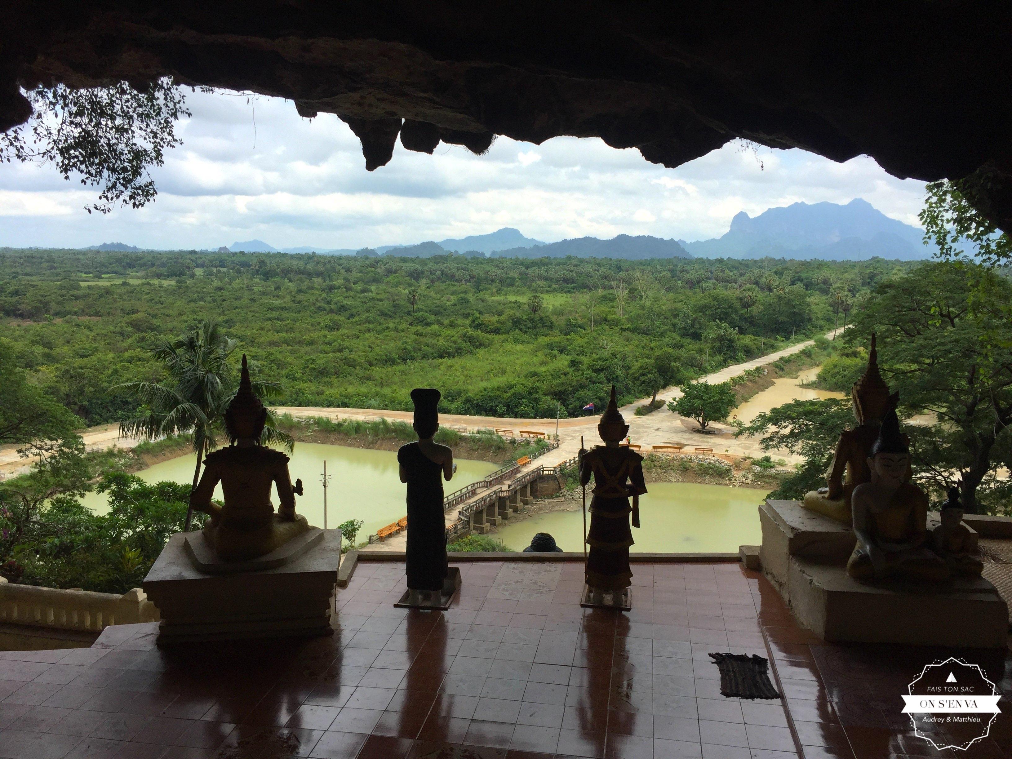 Arrivée à Yathaypyan Cave