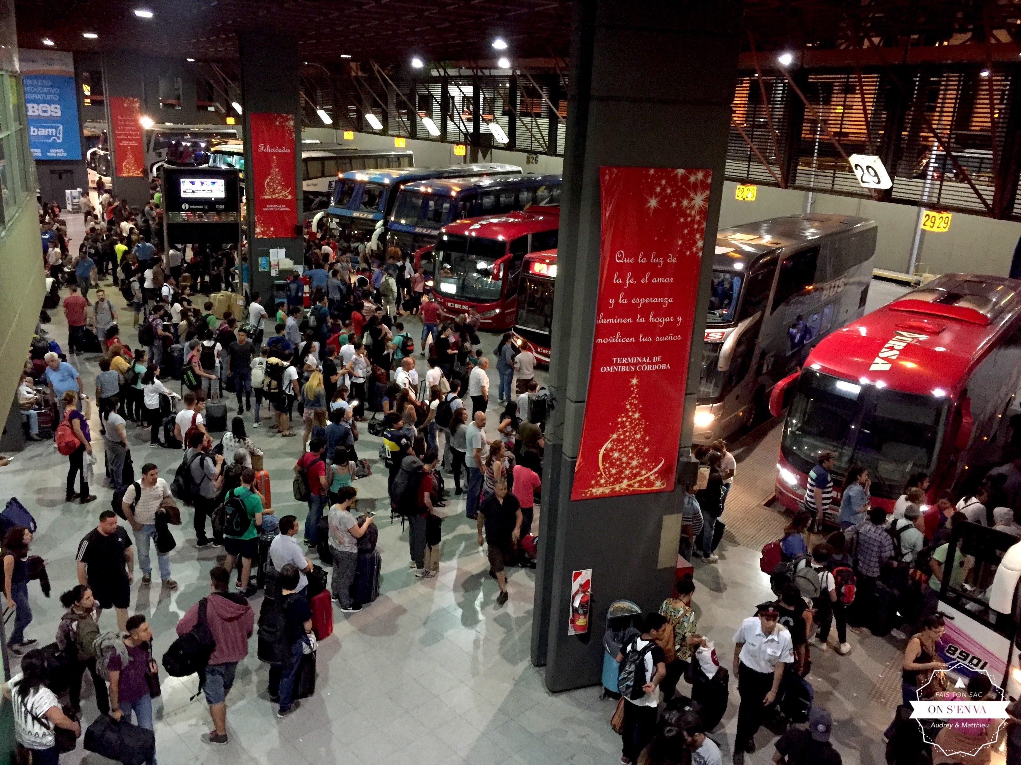 Gare de Córdoba... 23 décembre!