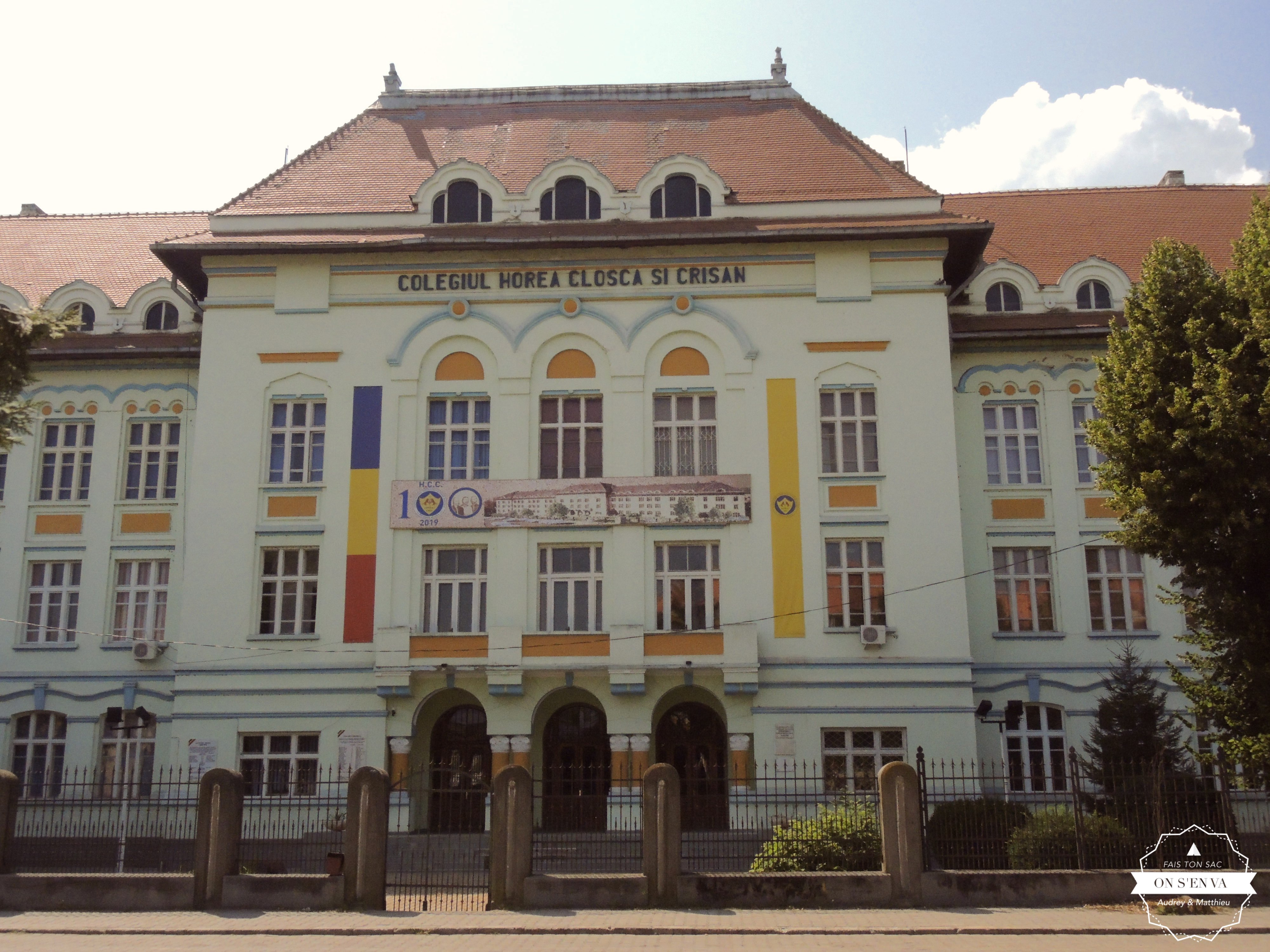 Le collège d'Alba Iulia