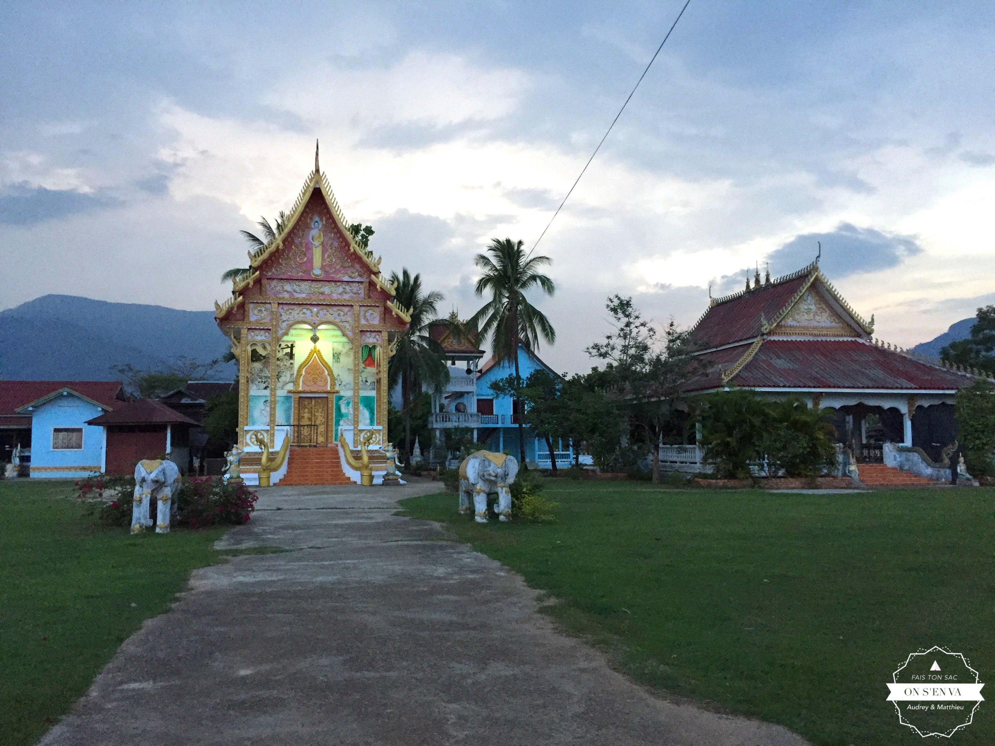 Temple dans Champasak