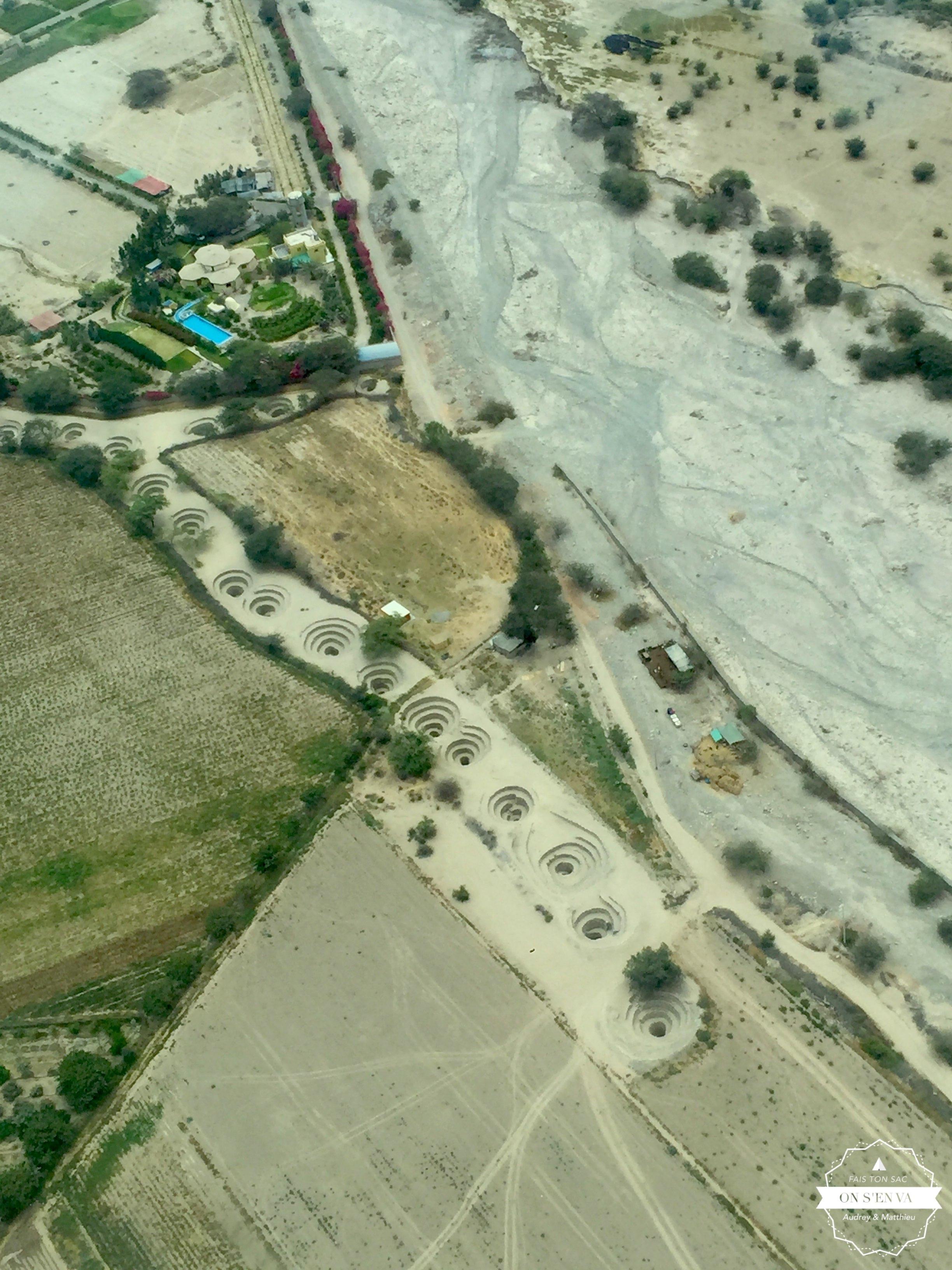 Les puits des Nazca