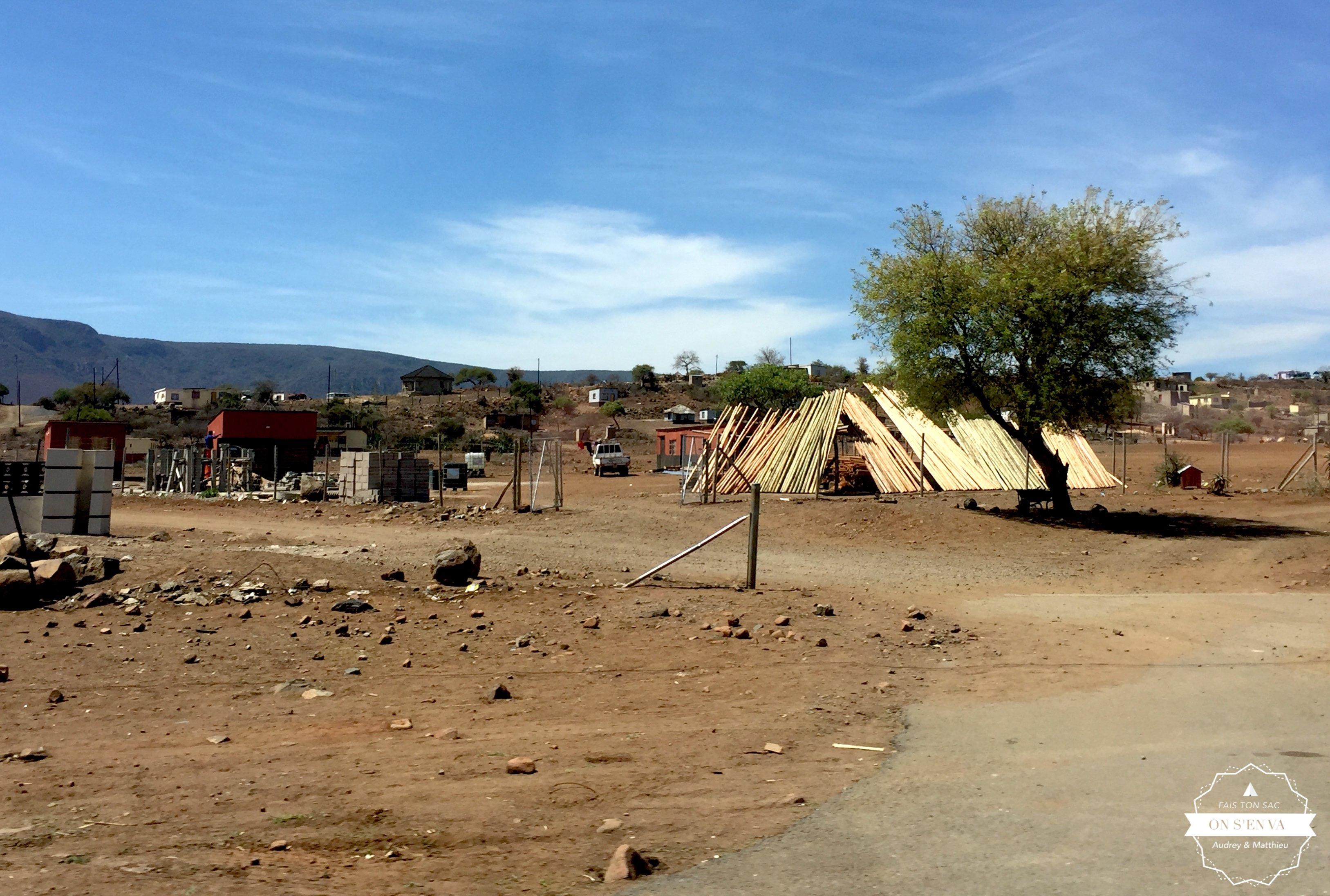 En quittant le Swaziland