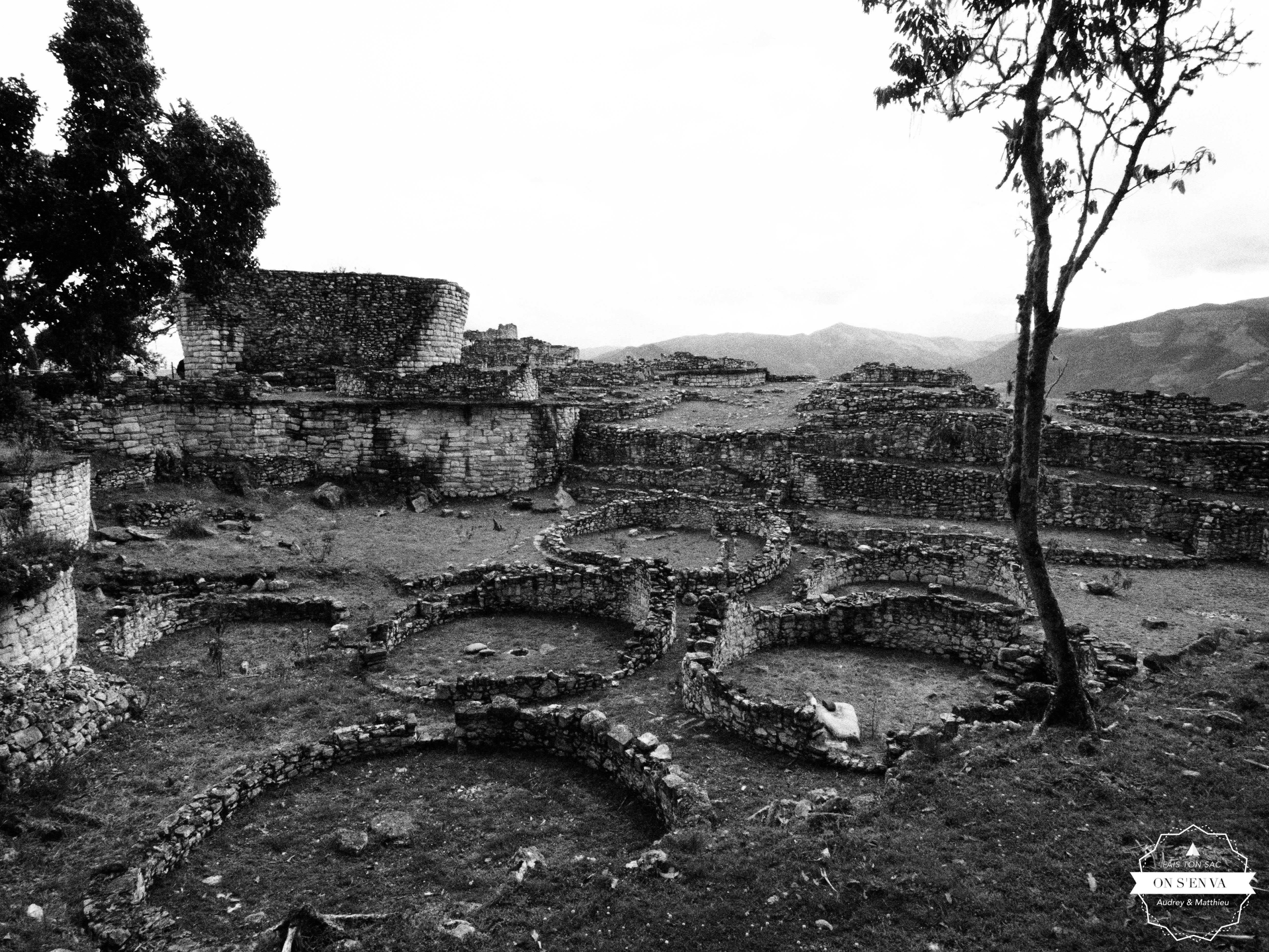 Ruines de la base des maisons