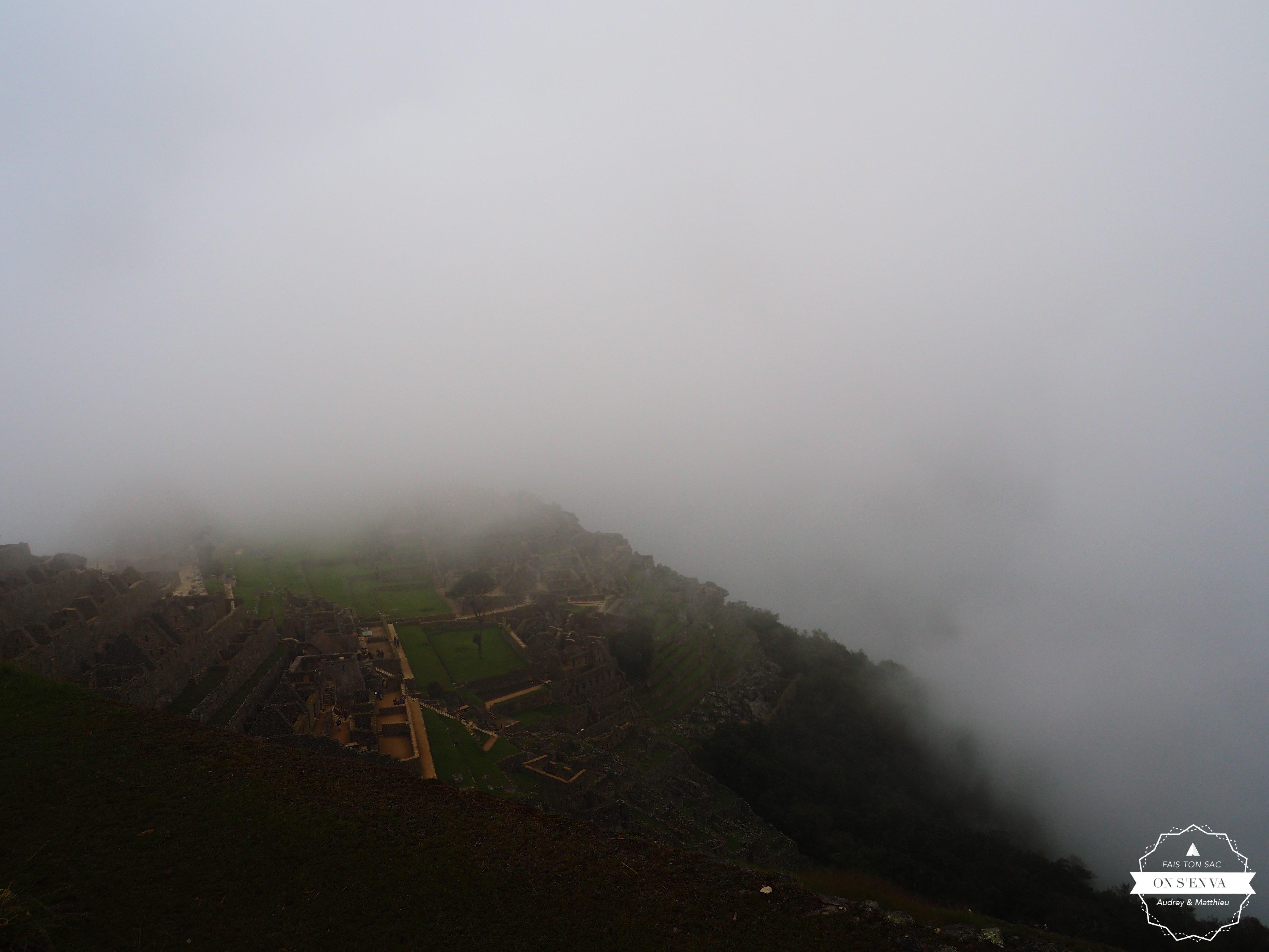 Première visions du Machu Picchu