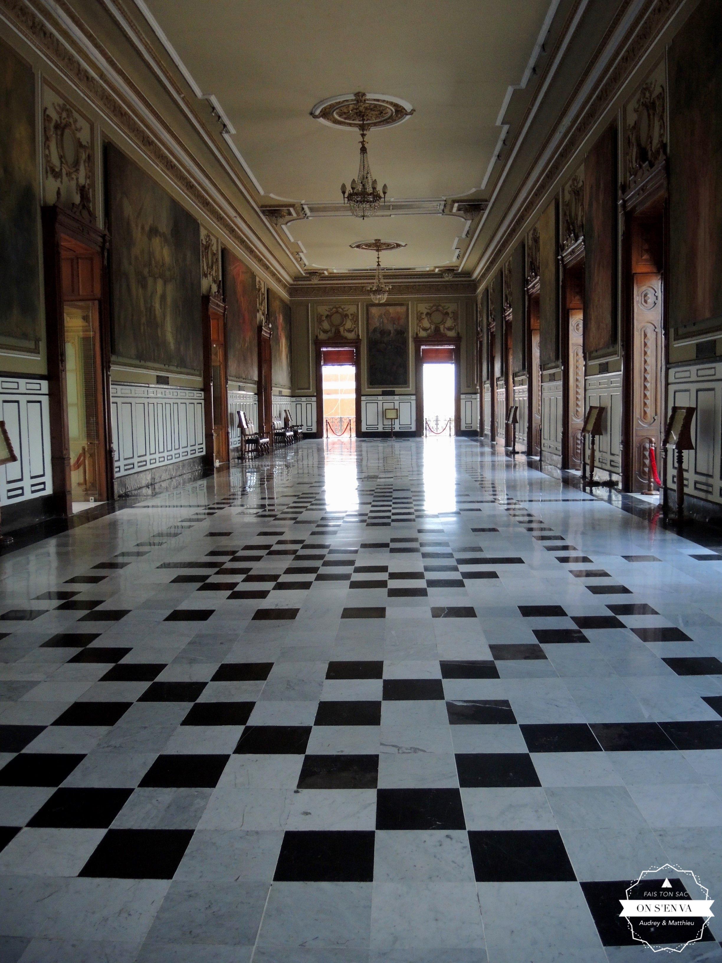 Intérieur de la mairie