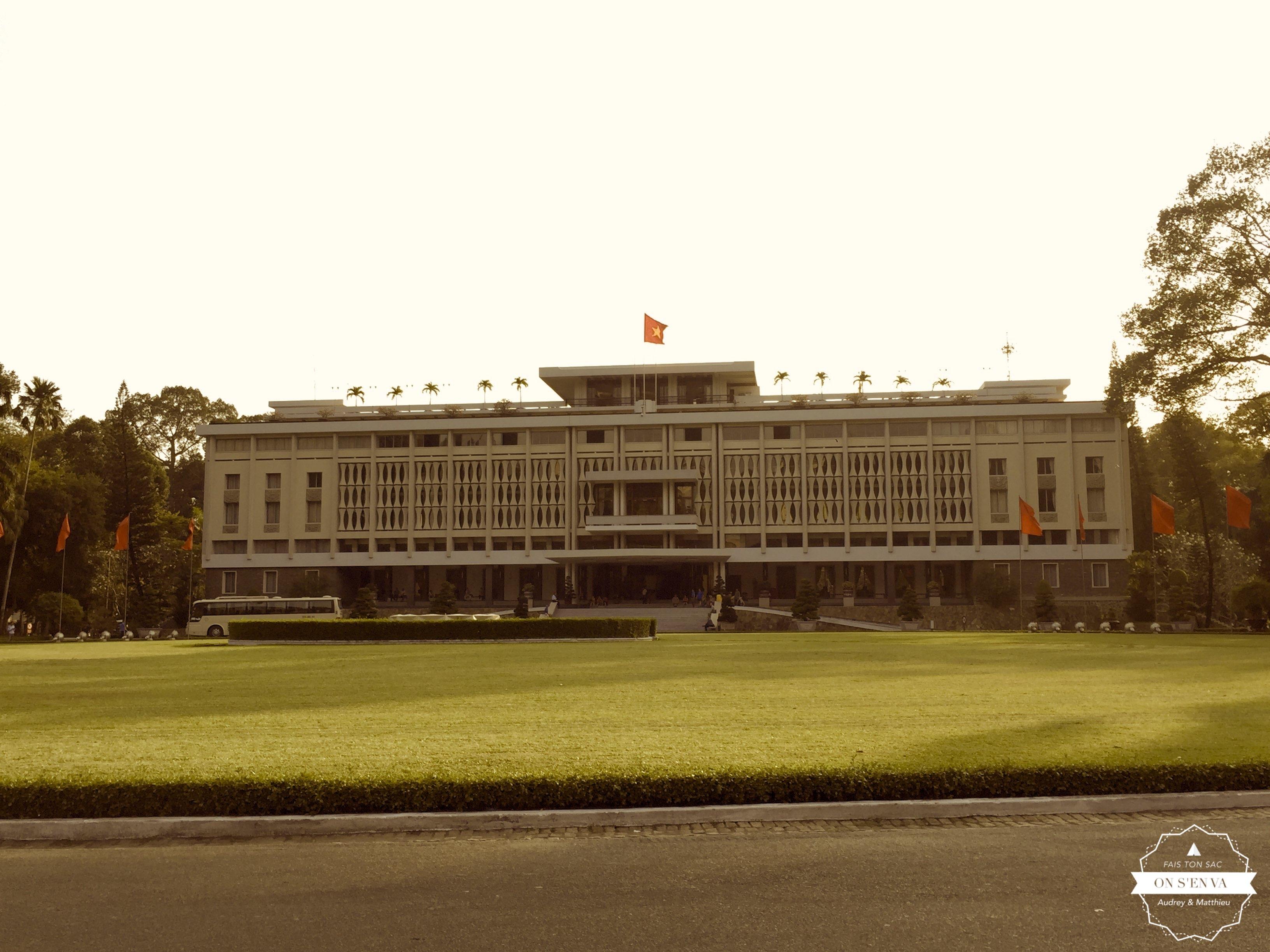 Le Palais de la Réunification...