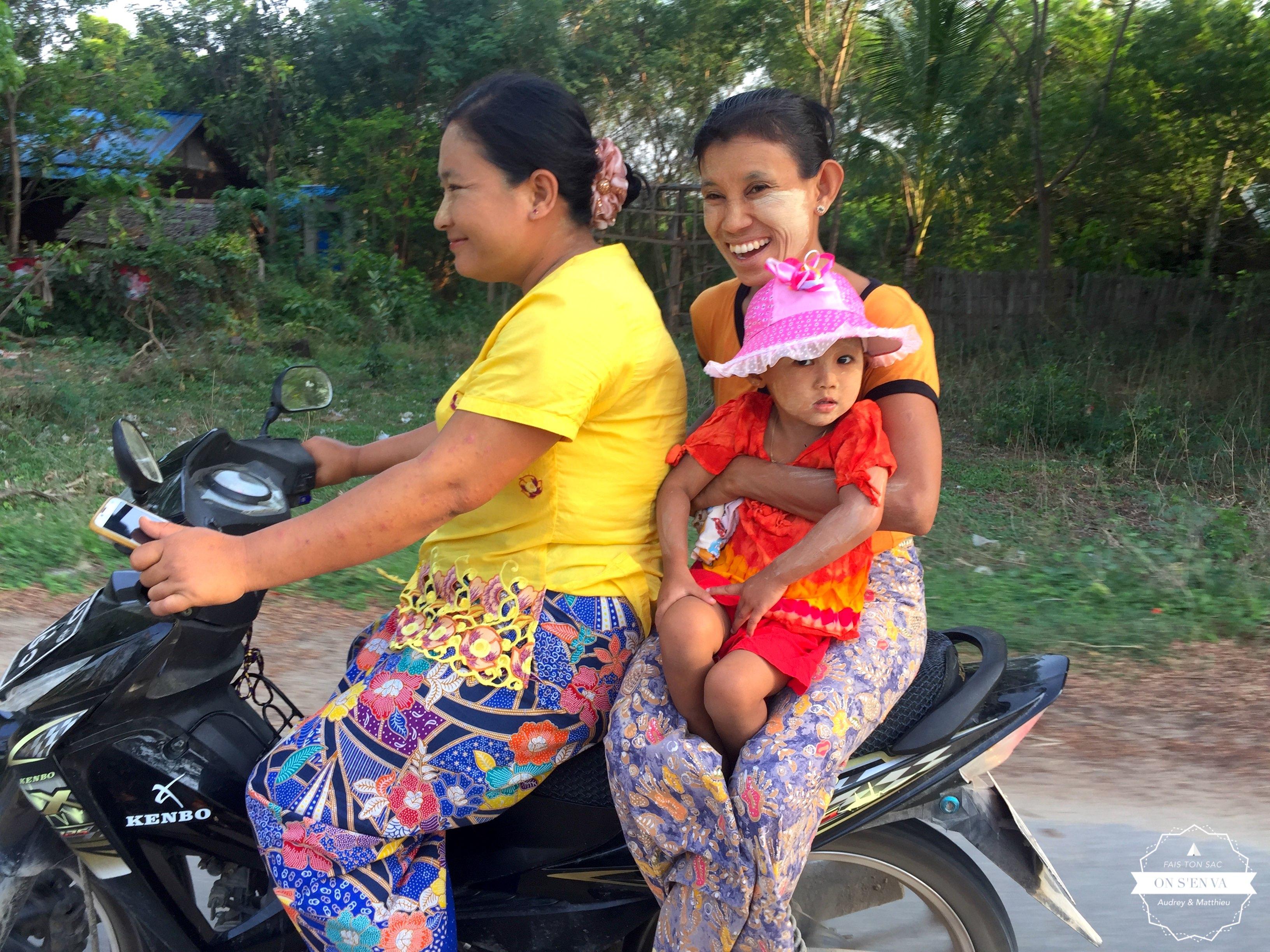 Le sourire birman