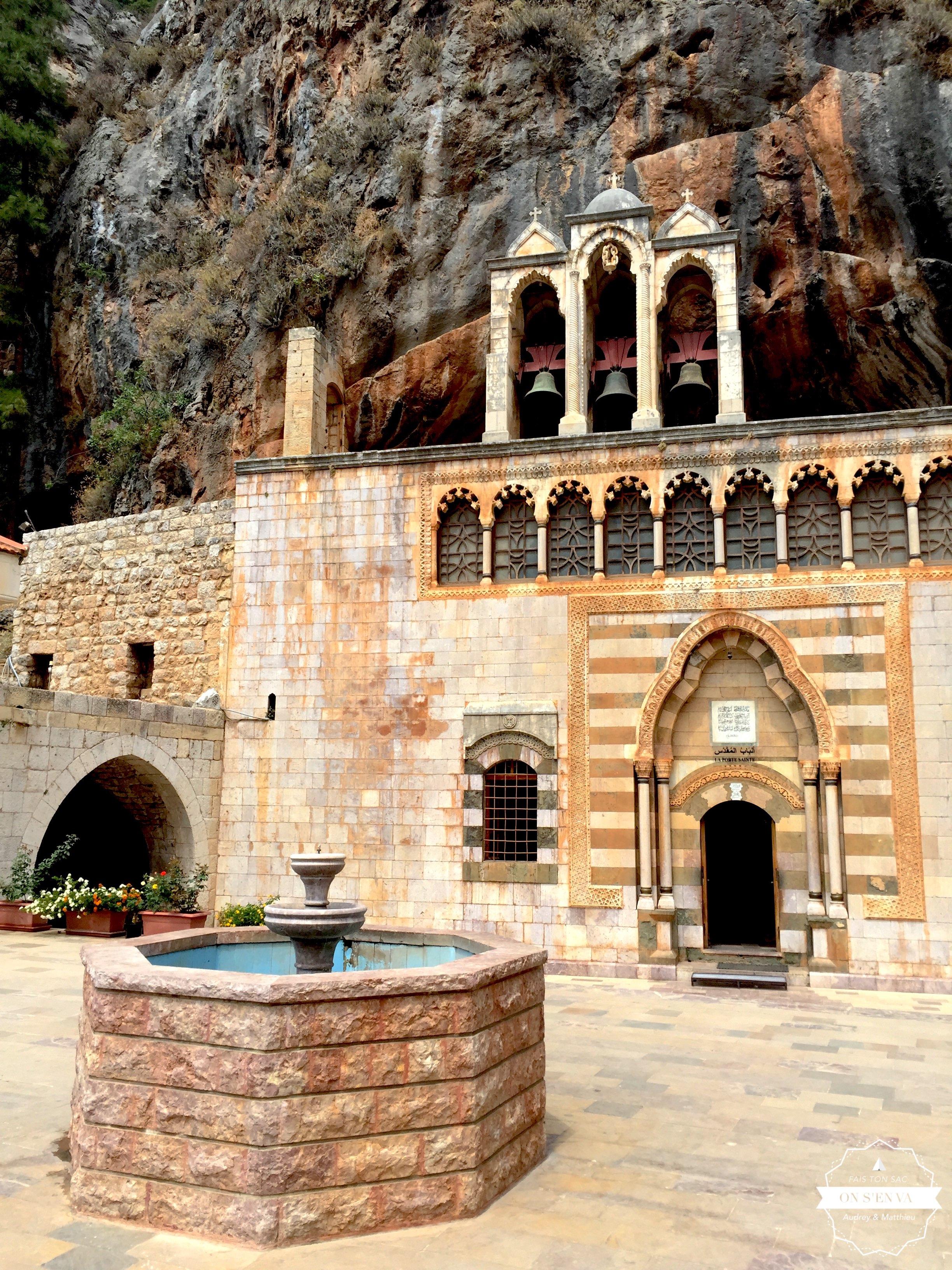 Enfin arrivés au monastère