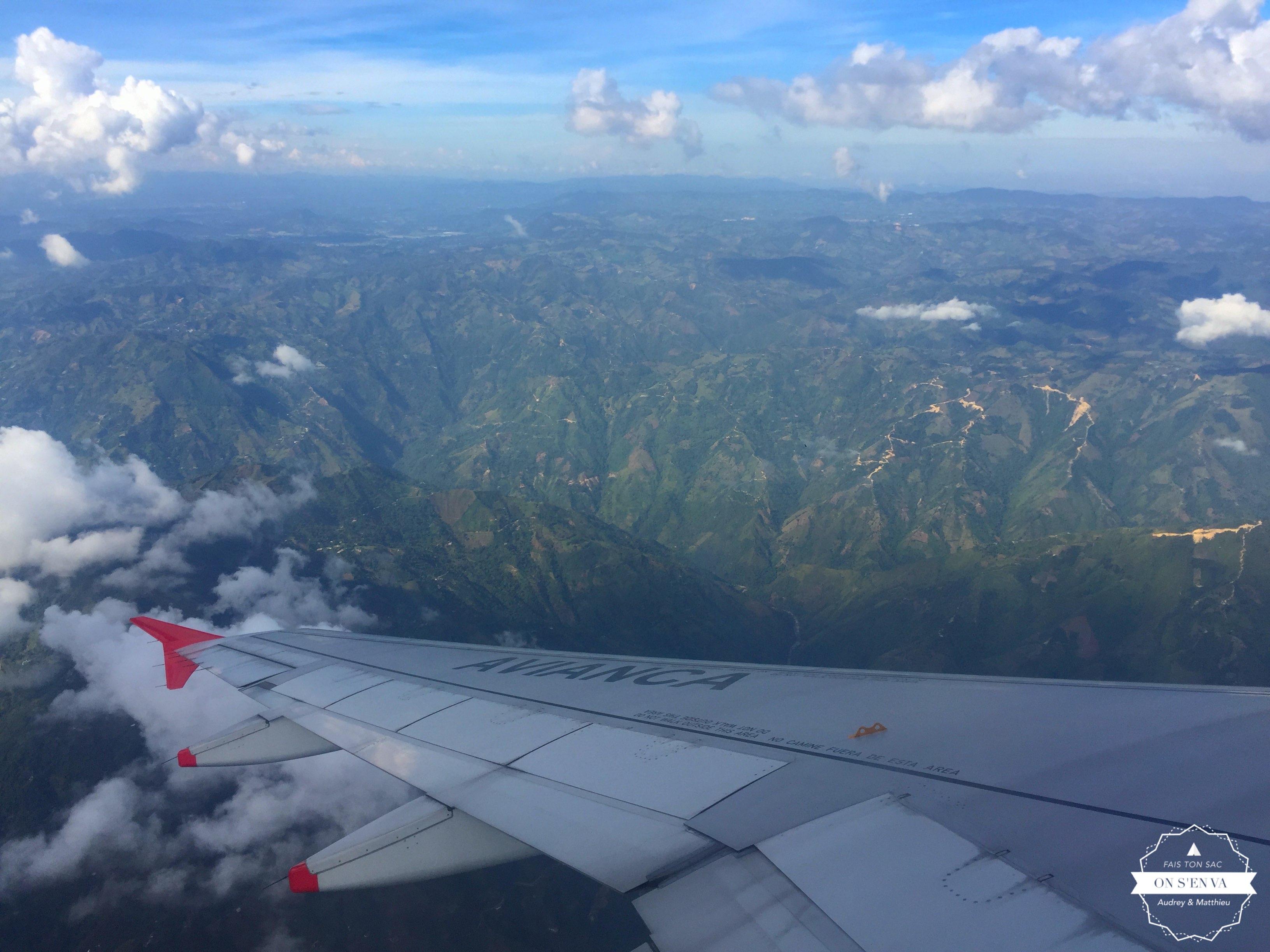 Atterrissage à Medellin