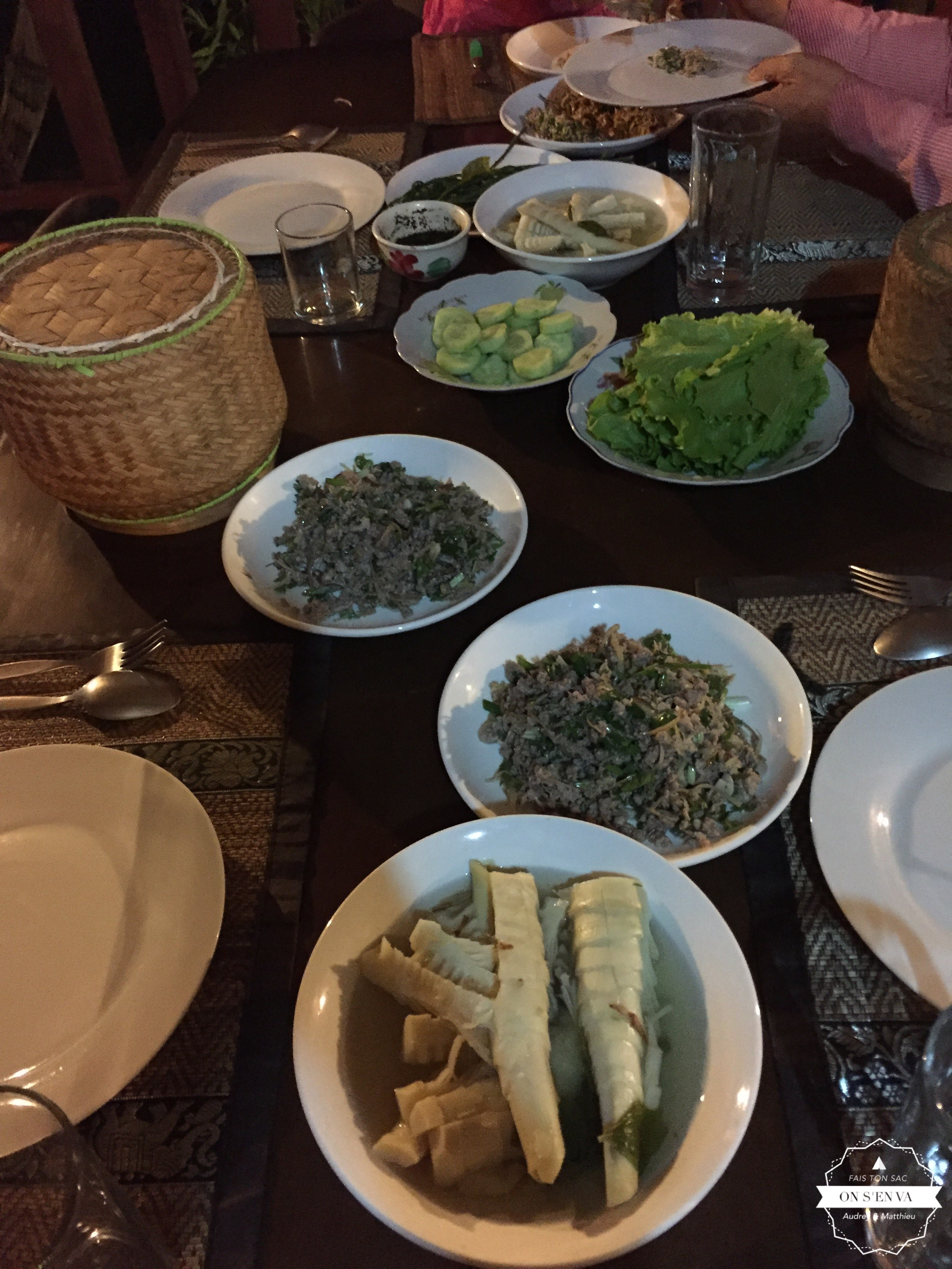 Premier dîner chez Noy