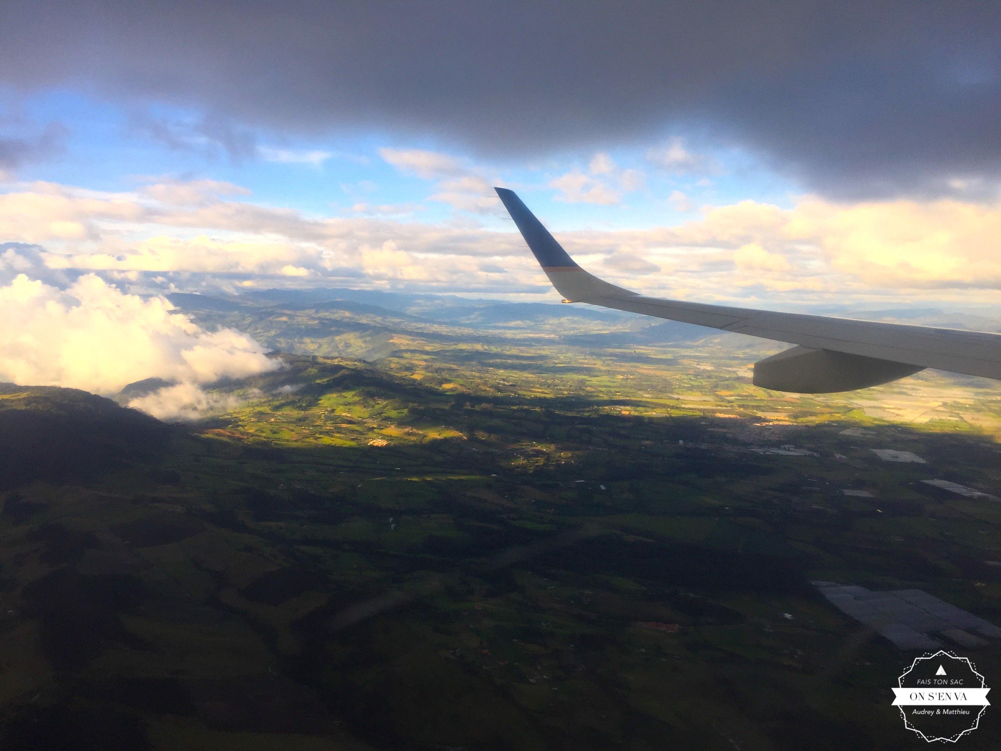 Bogotá en approche