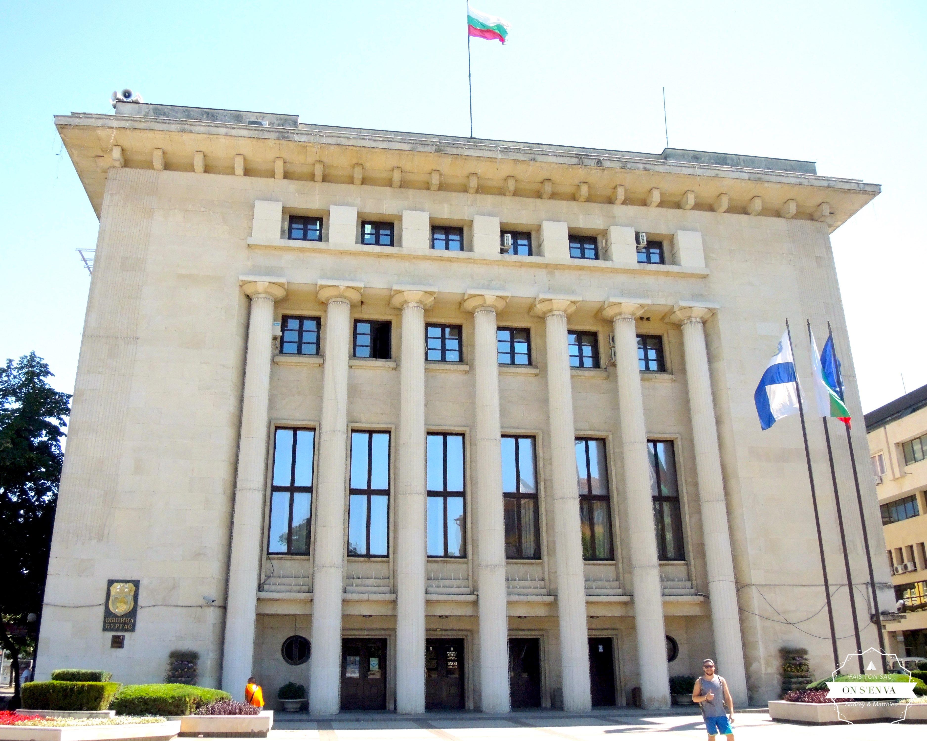 La mairie de Burgas