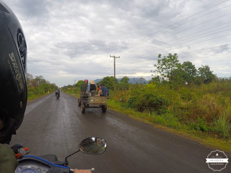 En route pour le plateau des Bolaven