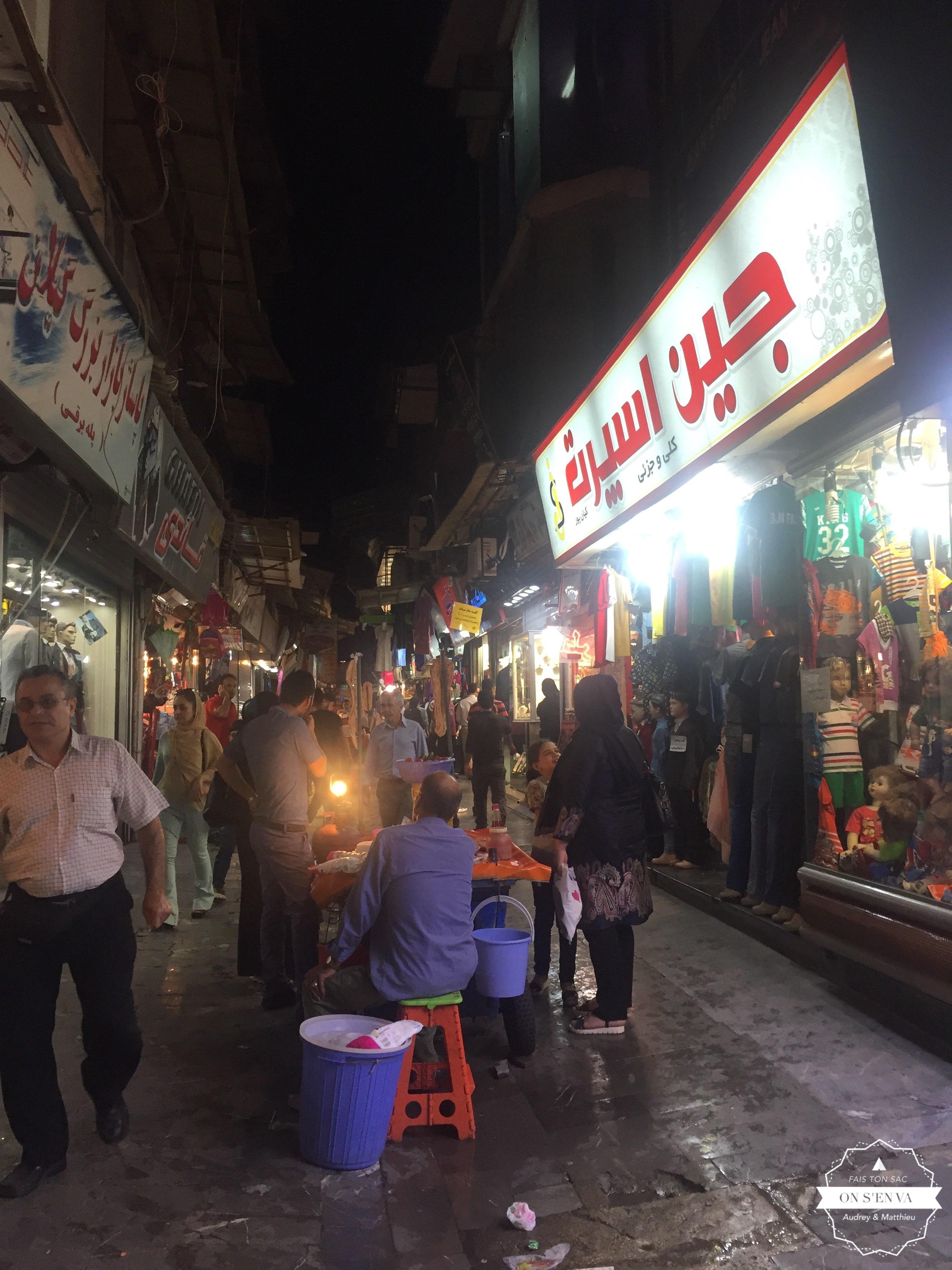 Bazar de Rasht
