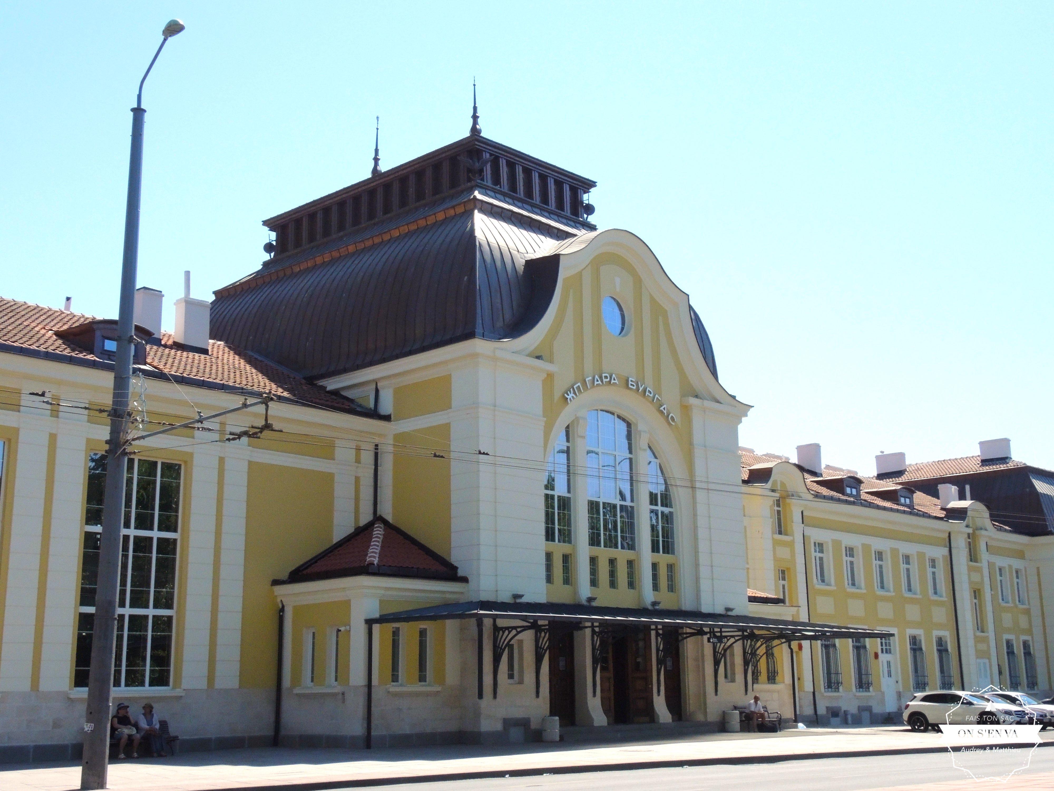 La  gare de Burgas