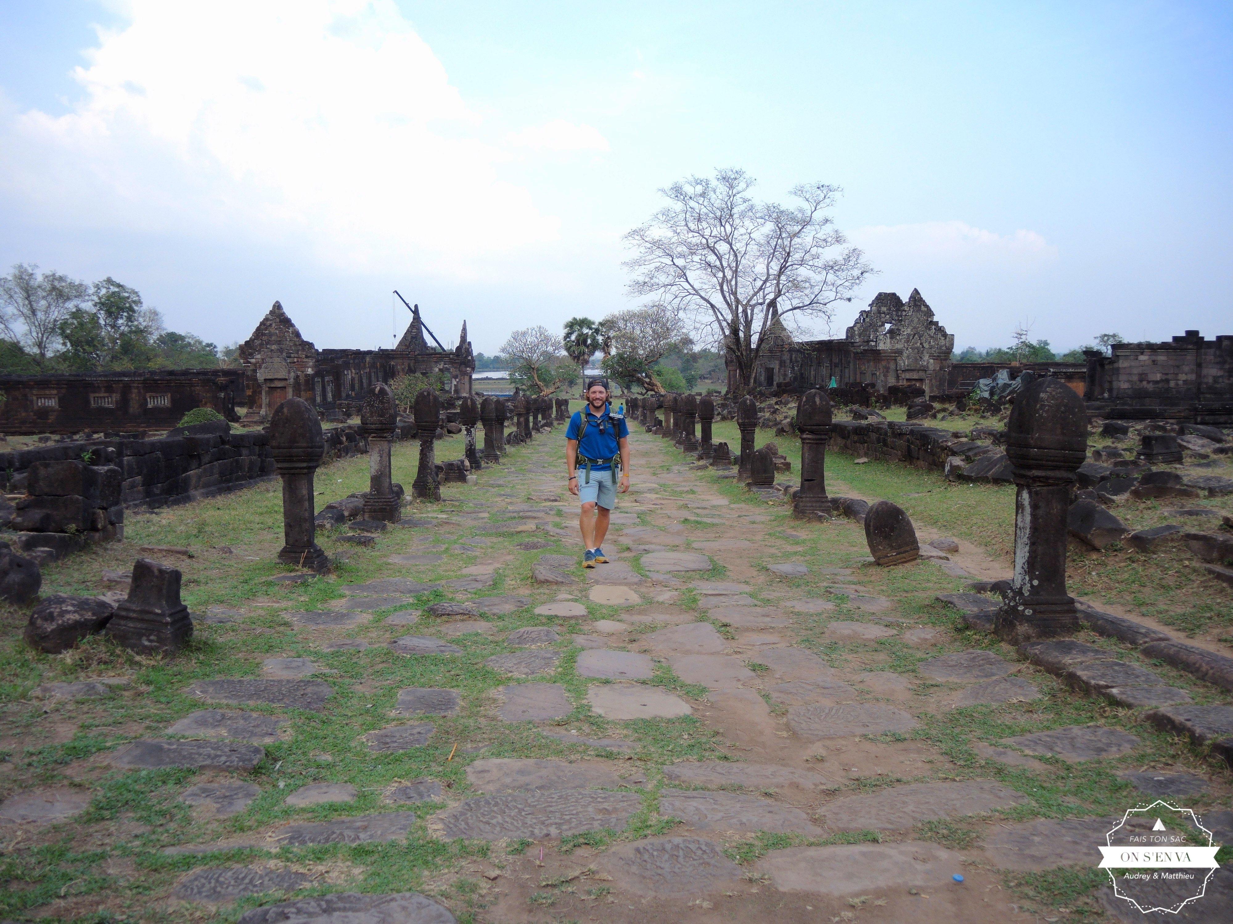 Visite de Wat Phou à Champasak