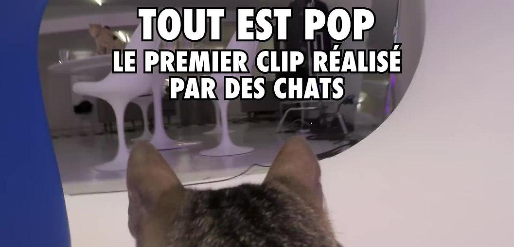 Décor plateau - clip Alain Chamfort